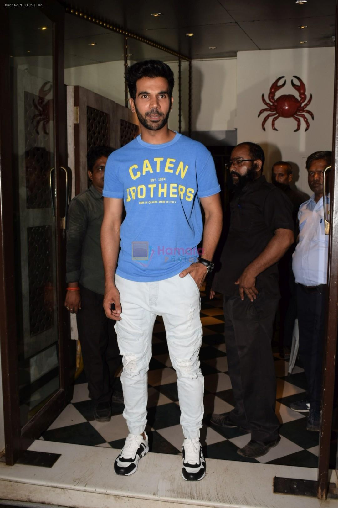 Rajkummar Rao at Wrapup party of film Stree at Bastian in bandra on 16th May 2018