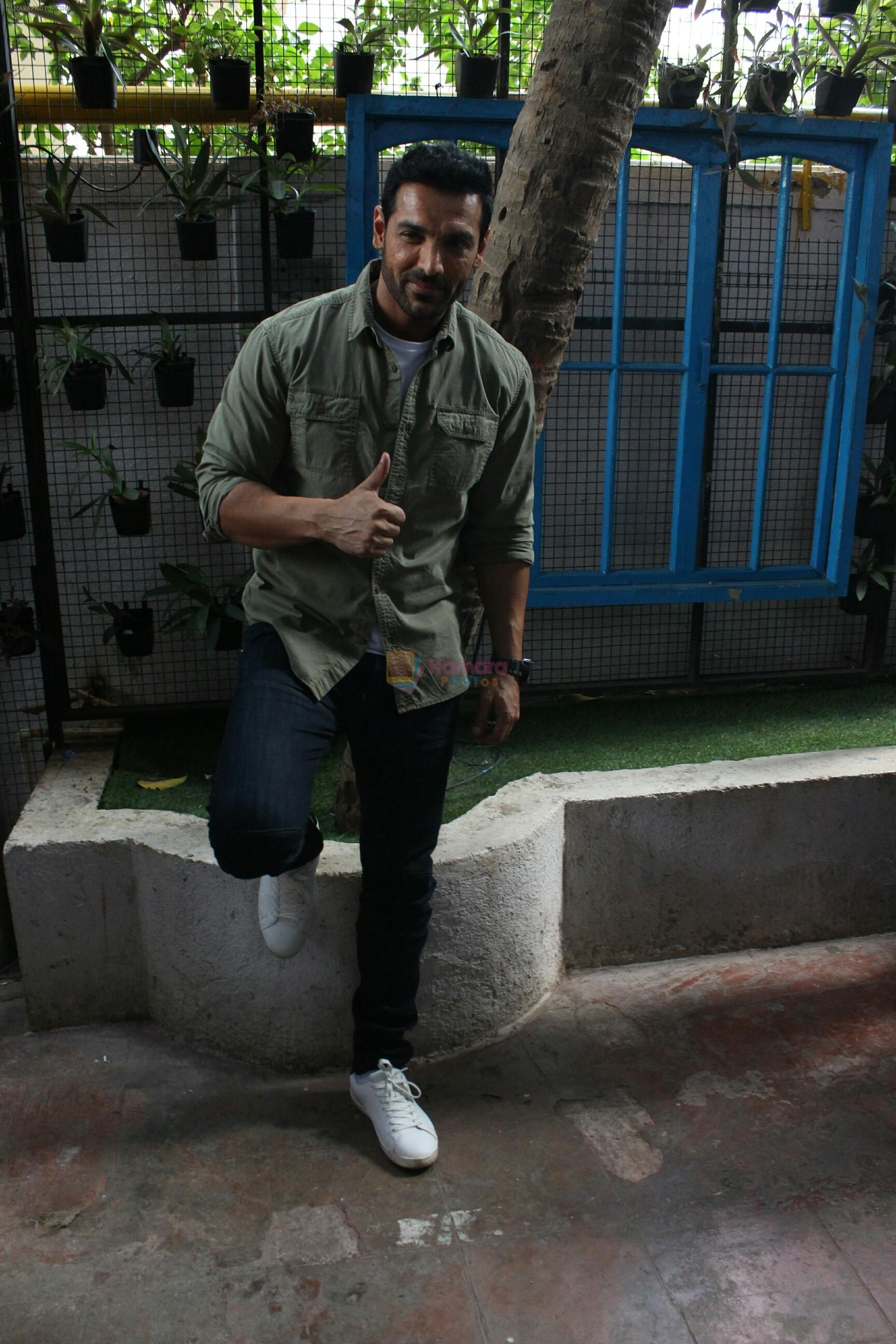 John Abraham spotted at Bandra, Mumbai on 16th May 2018