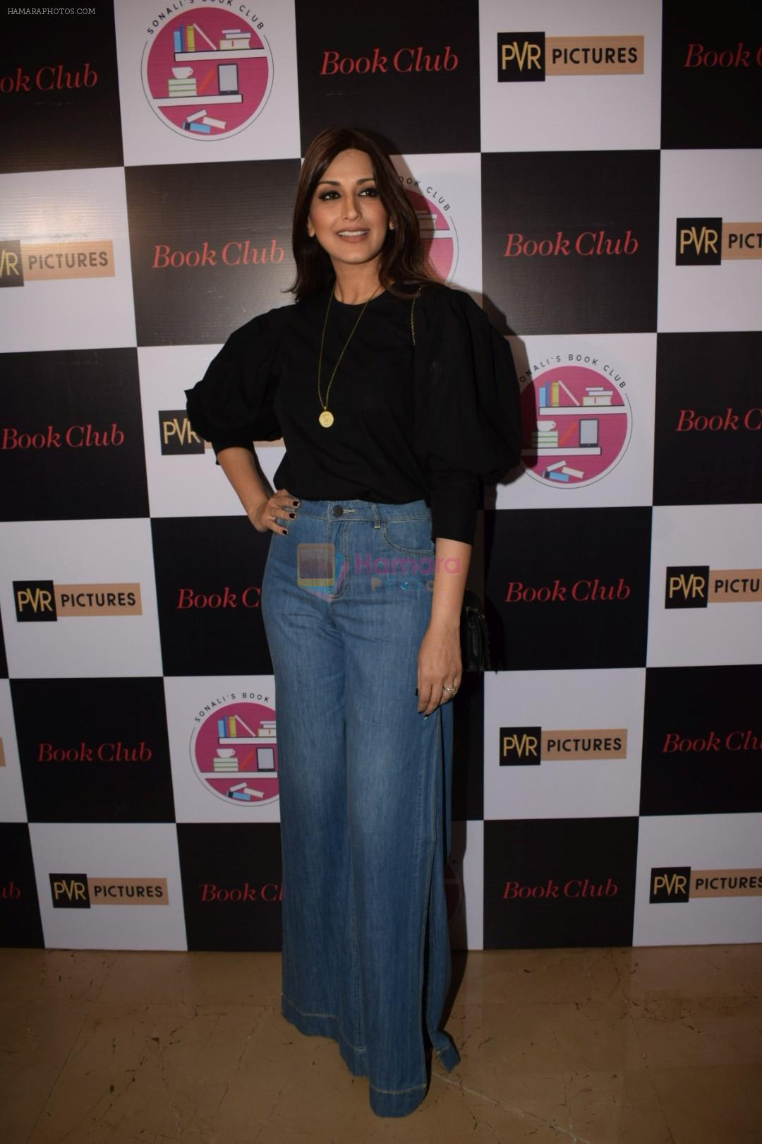 Sonali Bendre at the Screening of hollywood film book club at pvr juhu on 16th May 2018
