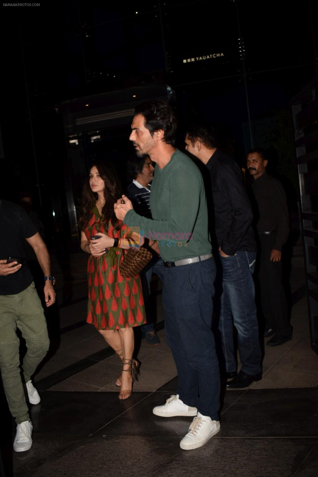 Preity Zinta, Arjun Rampal spotted at Yautcha bkc on 25th May 2018