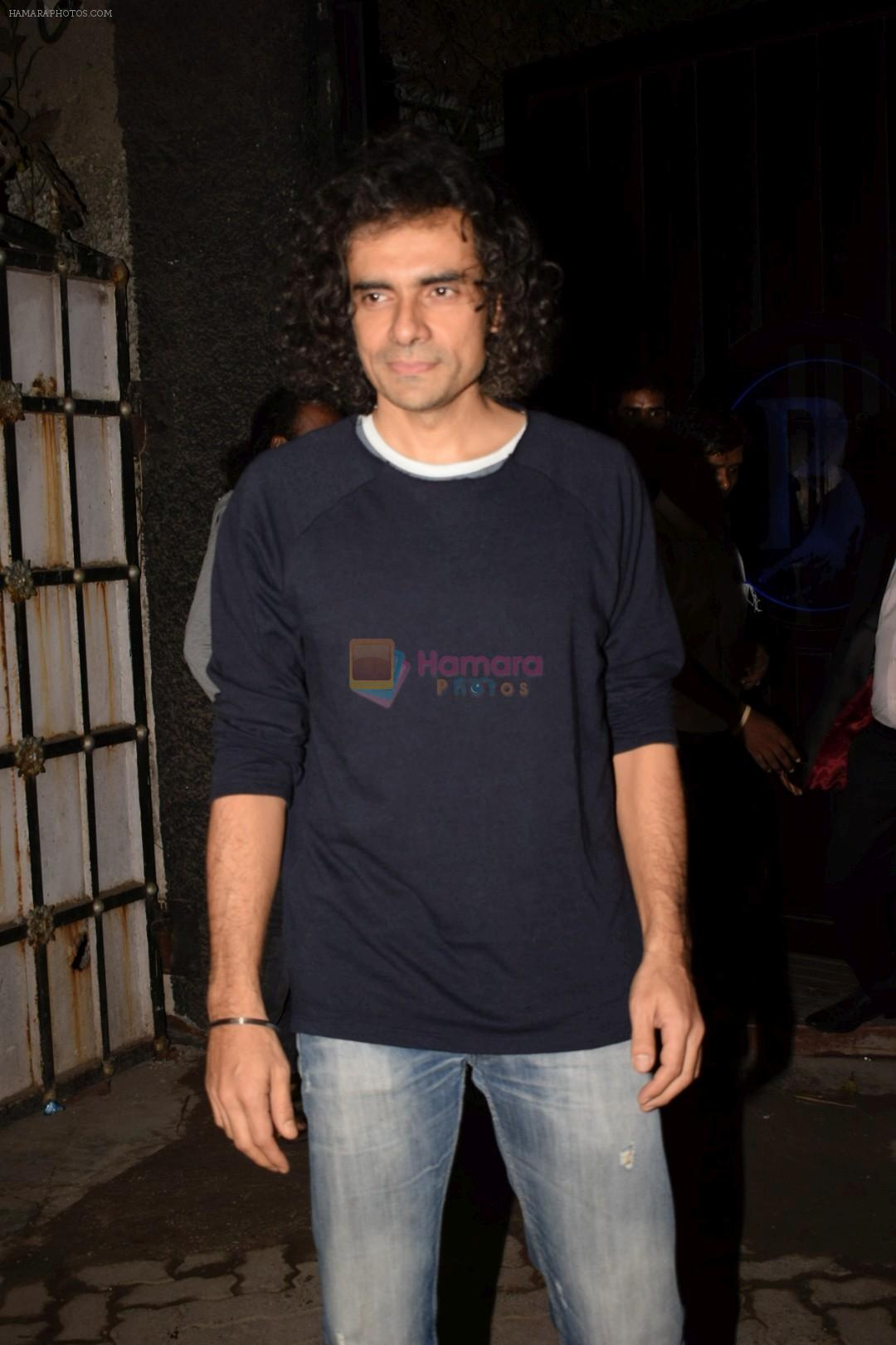 Imtiaz Ali at Mukesh chhabra's birthday party on 26th May 2018