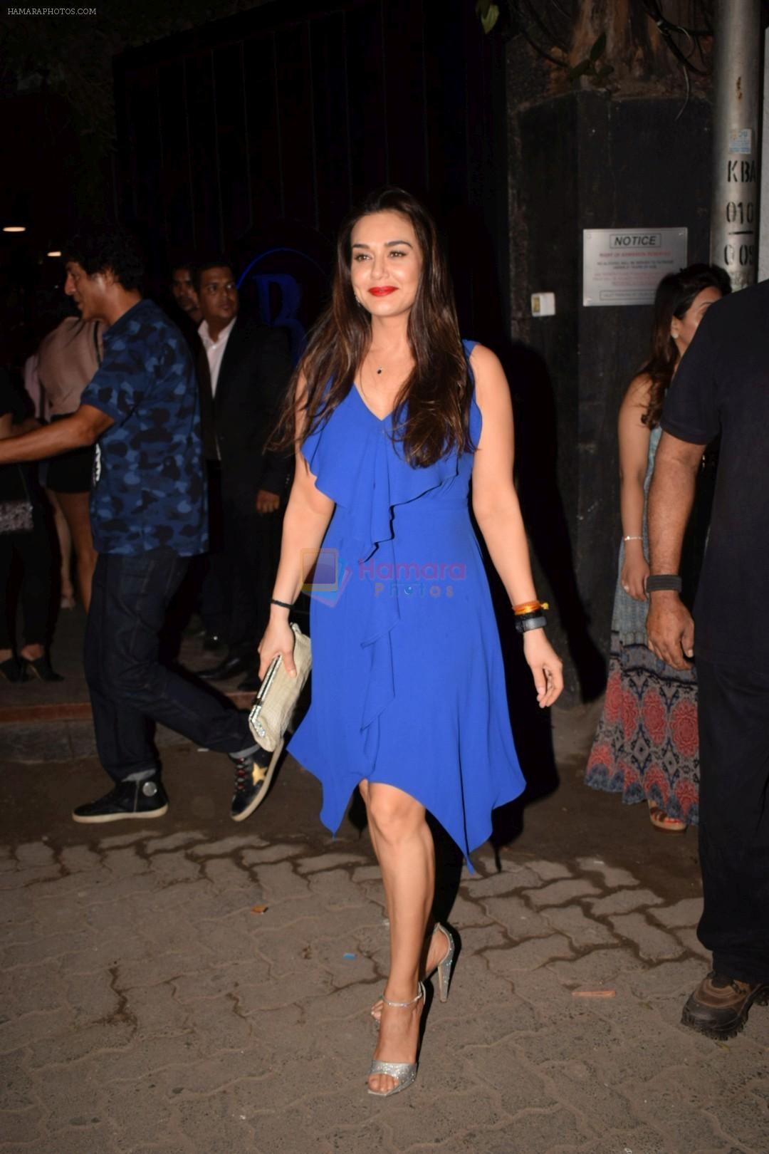 Preity Zinta at Mukesh chhabra's birthday party on 26th May 2018