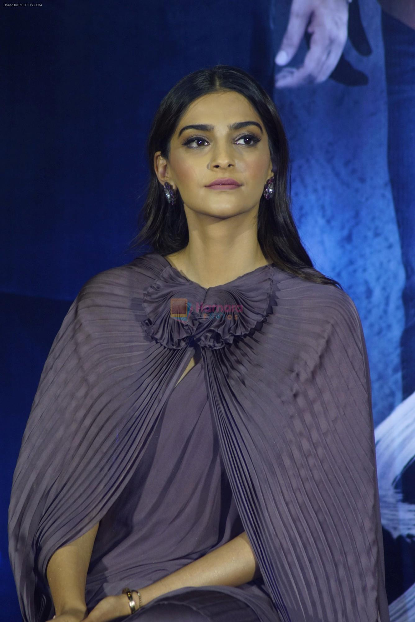 Sonam Kapoor at the Trailer Launch Of Film Sanju on 30th May 2018
