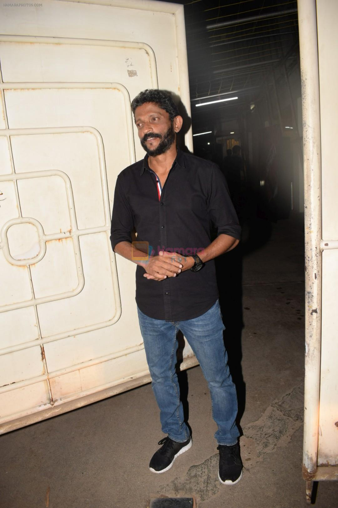 Shoojit Sircar at the screening of Bhavesh Joshi Superhero in sunny super sound on 31st May 2018
