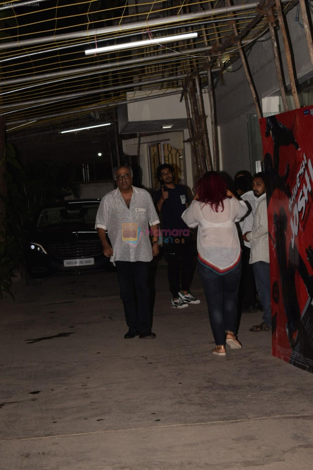 Boney Kapoor at the screening of Bhavesh Joshi Superhero in sunny super sound on 31st May 2018