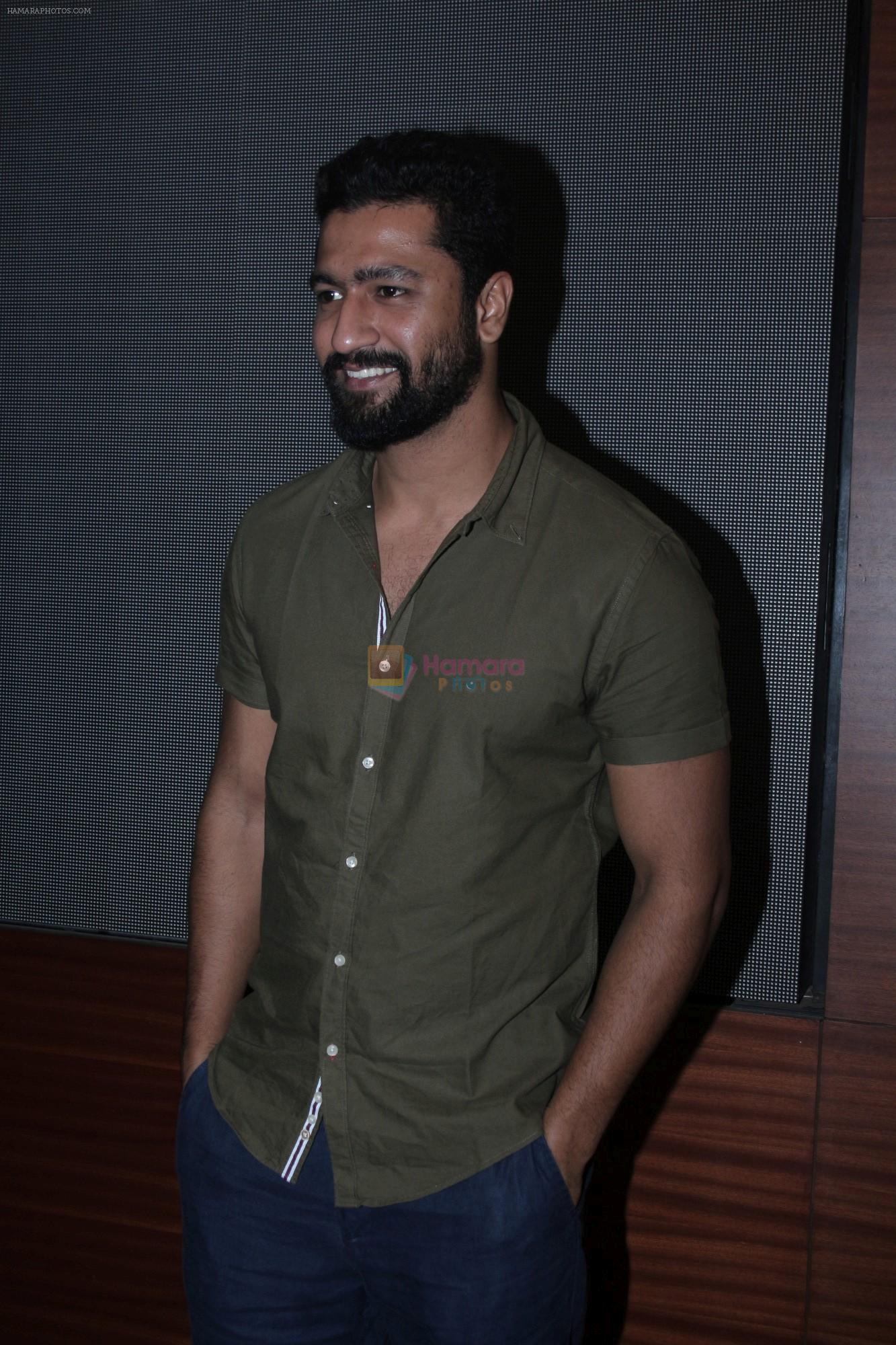 Vicky Kaushal at the Special Screening Of Raazi For Deaf & Dumb on 1st June 2018