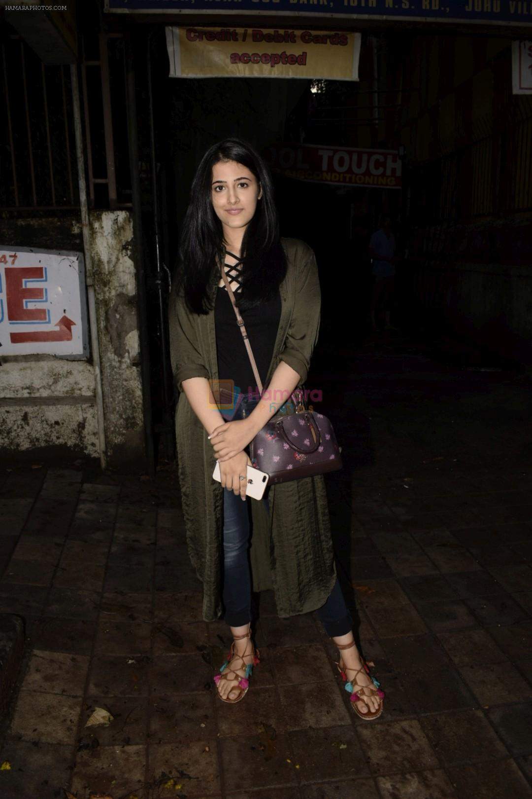 Nupur Sanon spotted at kromakey juhu on 7th June 2018