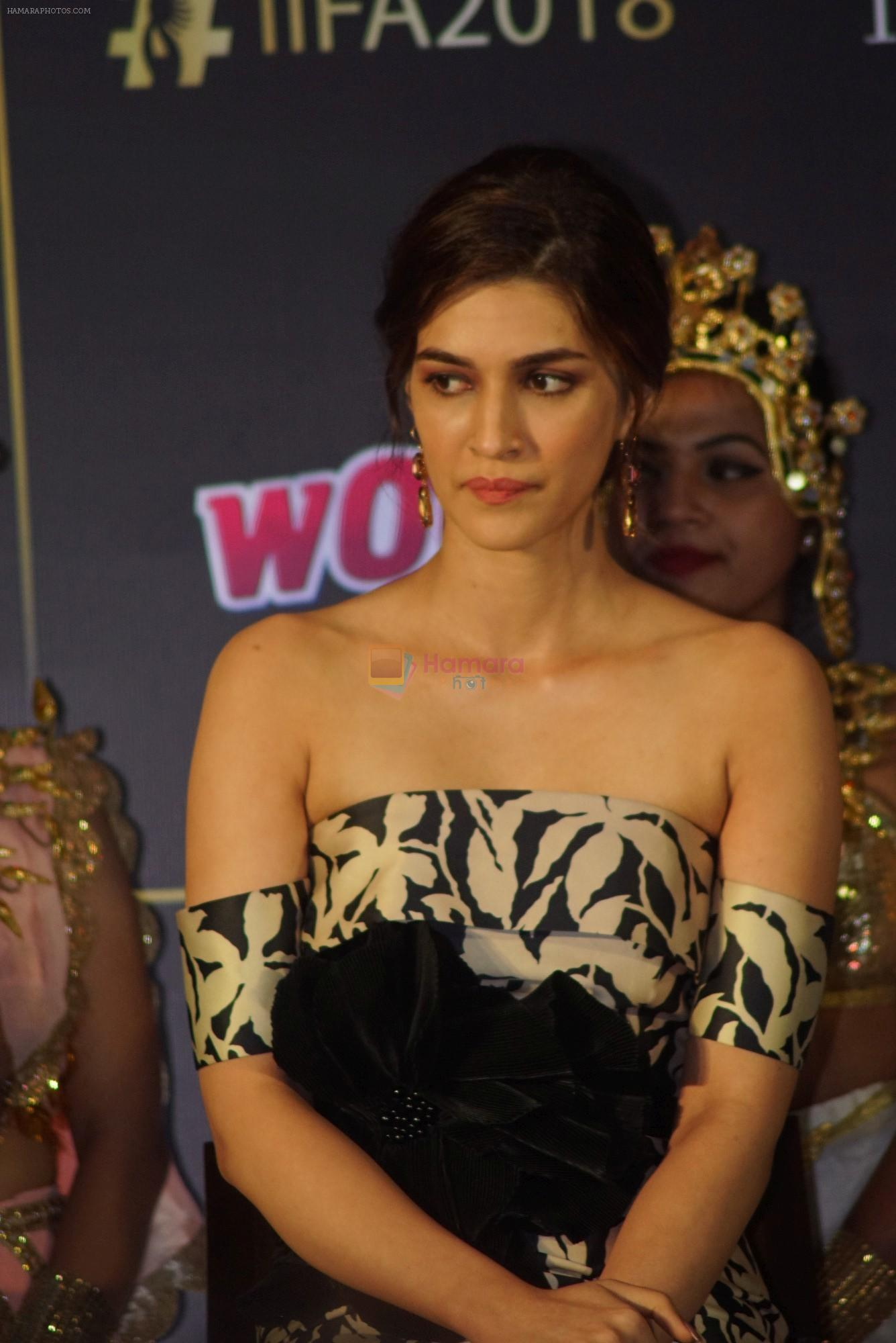 Kriti Sanon at IIFA press conference in jw marriott juhu on 12th June 2018