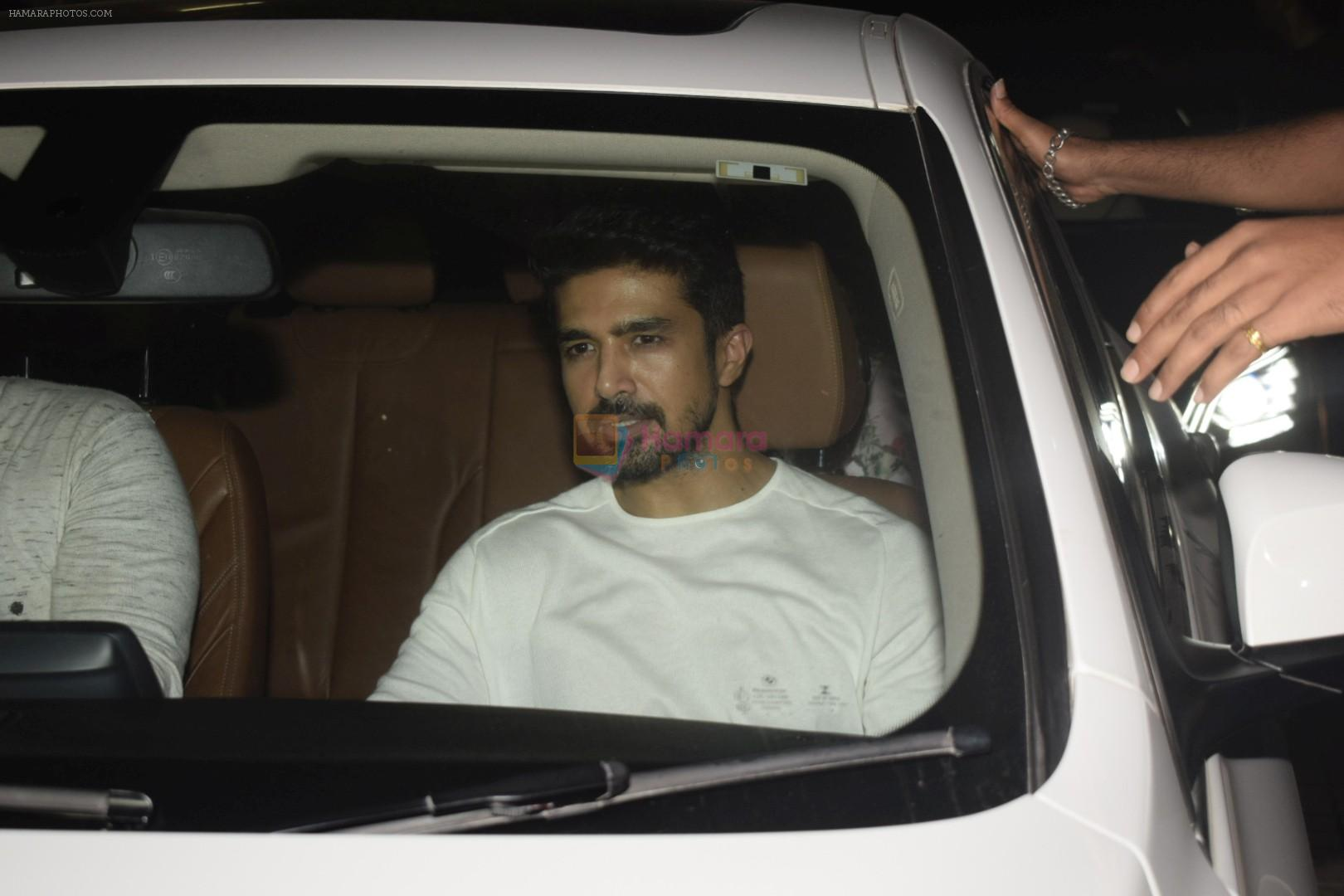 Saqib Saleem at the Screening of Race 3 in pvr juhu on 12th June 2018