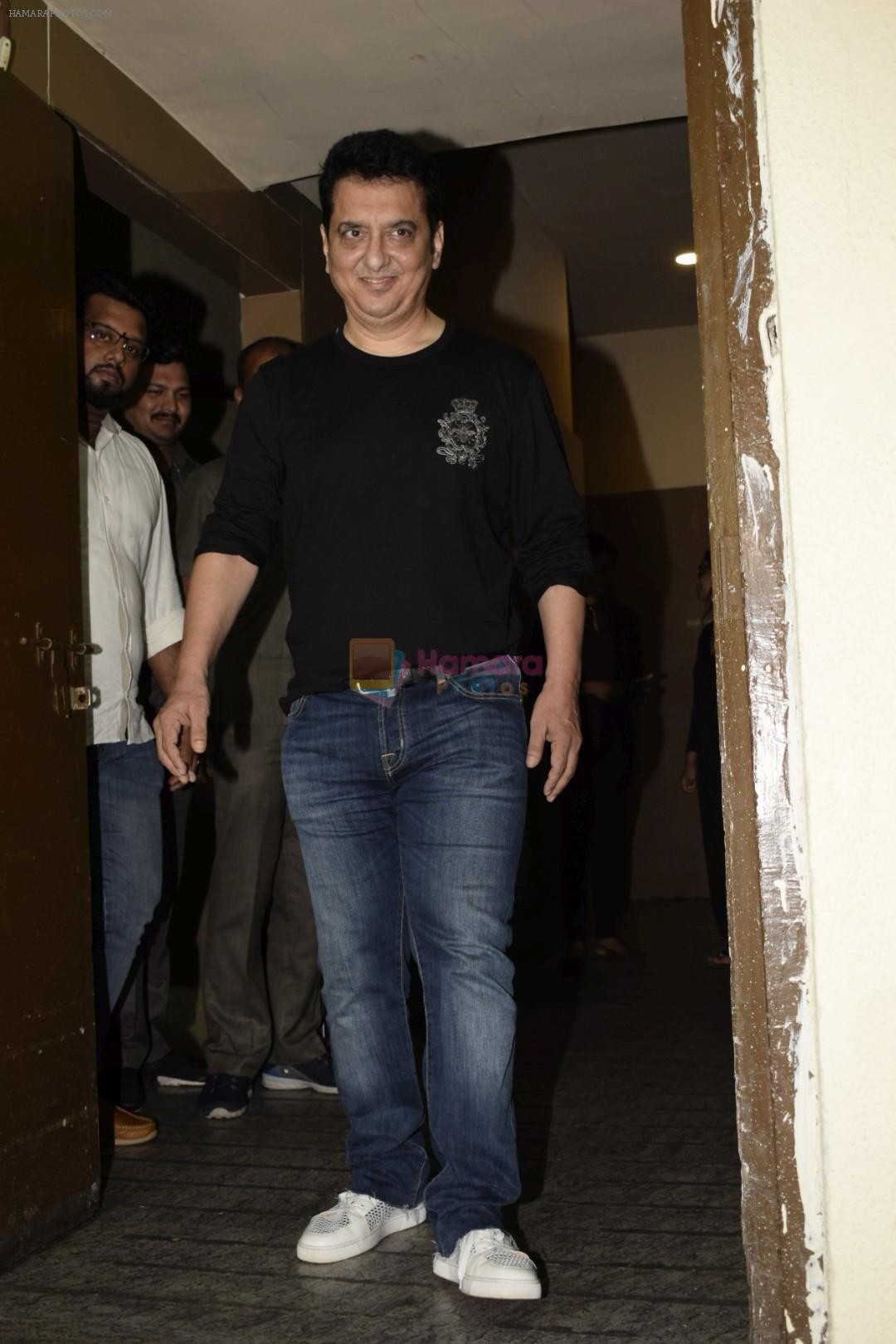 Sajid Nadiadwala at the Screening of Race 3 in pvr juhu on 12th June 2018