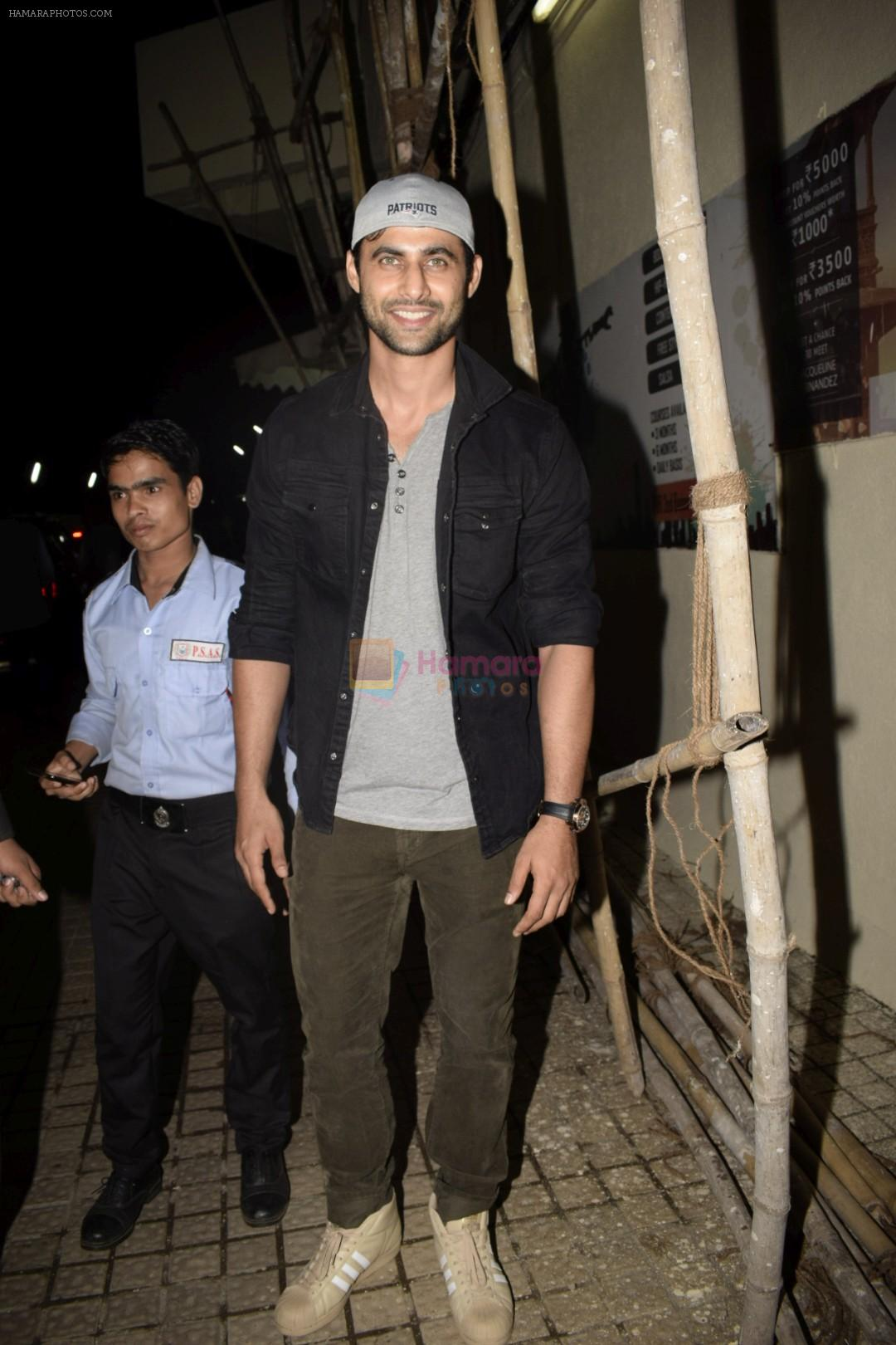 Freddy Daruwala at the Screening of Race 3 in pvr juhu on 12th June 2018
