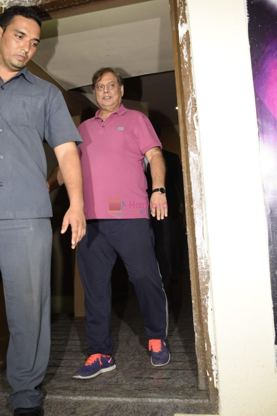 David Dhawan at the Screening of Race 3 in pvr juhu on 12th June 2018