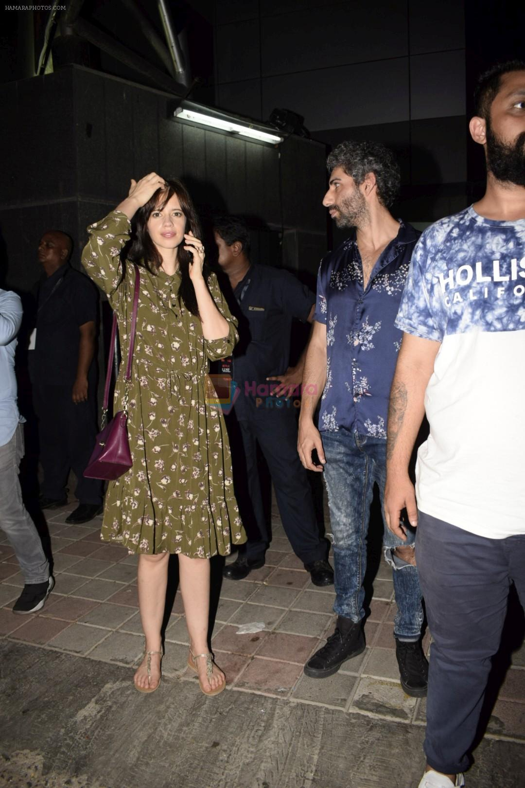Kalki Koechlin at the Screening of Lust stories in bandra on 13th June 2018