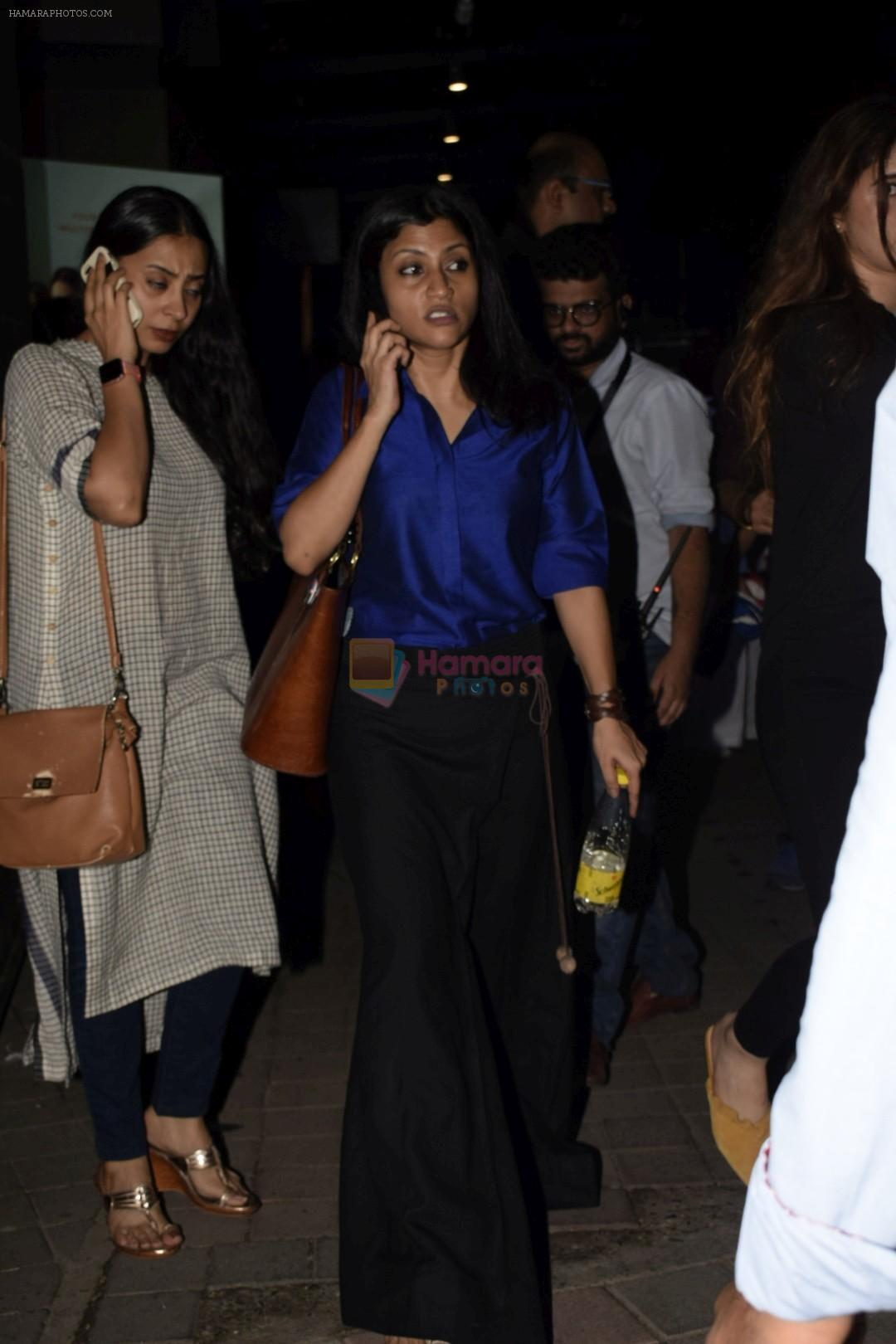 Konkona Sen Sharma at the Screening of Lust stories in bandra on 13th June 2018