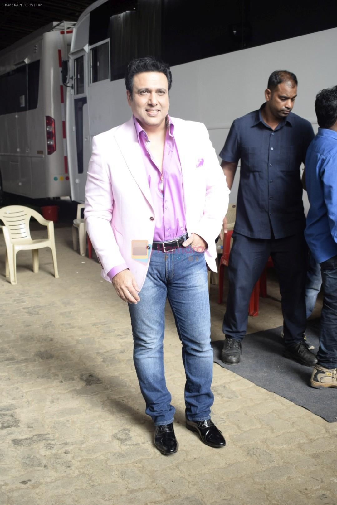 Govinda on the sets of Colors dance realty show Dance Deewane in filmcity on 13th June 2018