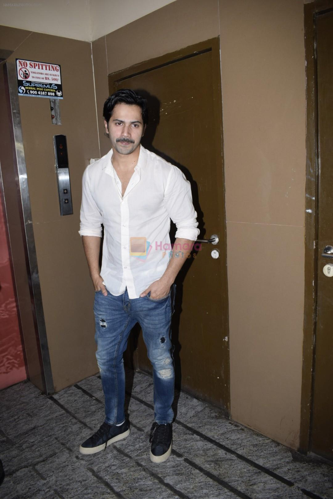 Varun Dhawan spotted at PVR juhu on 13th June 2018