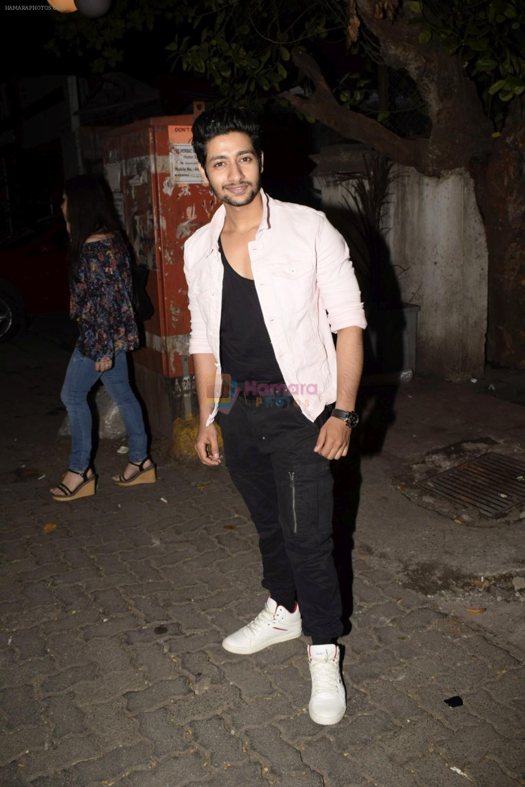 Akash Thosar at the Screening of Lust stories in bandra on 13th June 2018