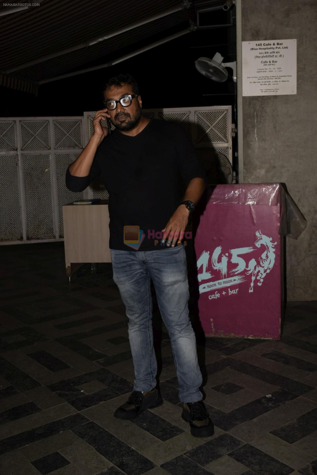 Anurag Kashyap at the Screening of Lust stories in bandra on 13th June 2018