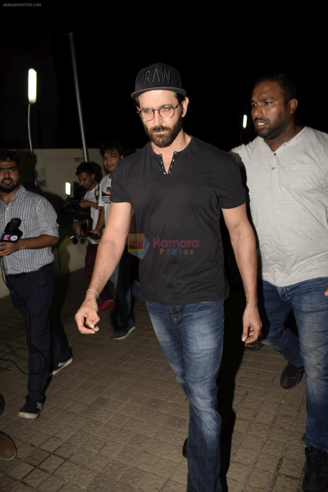 Hrithik Roshan with Family spotted at PVR juhu on 13th June 2018