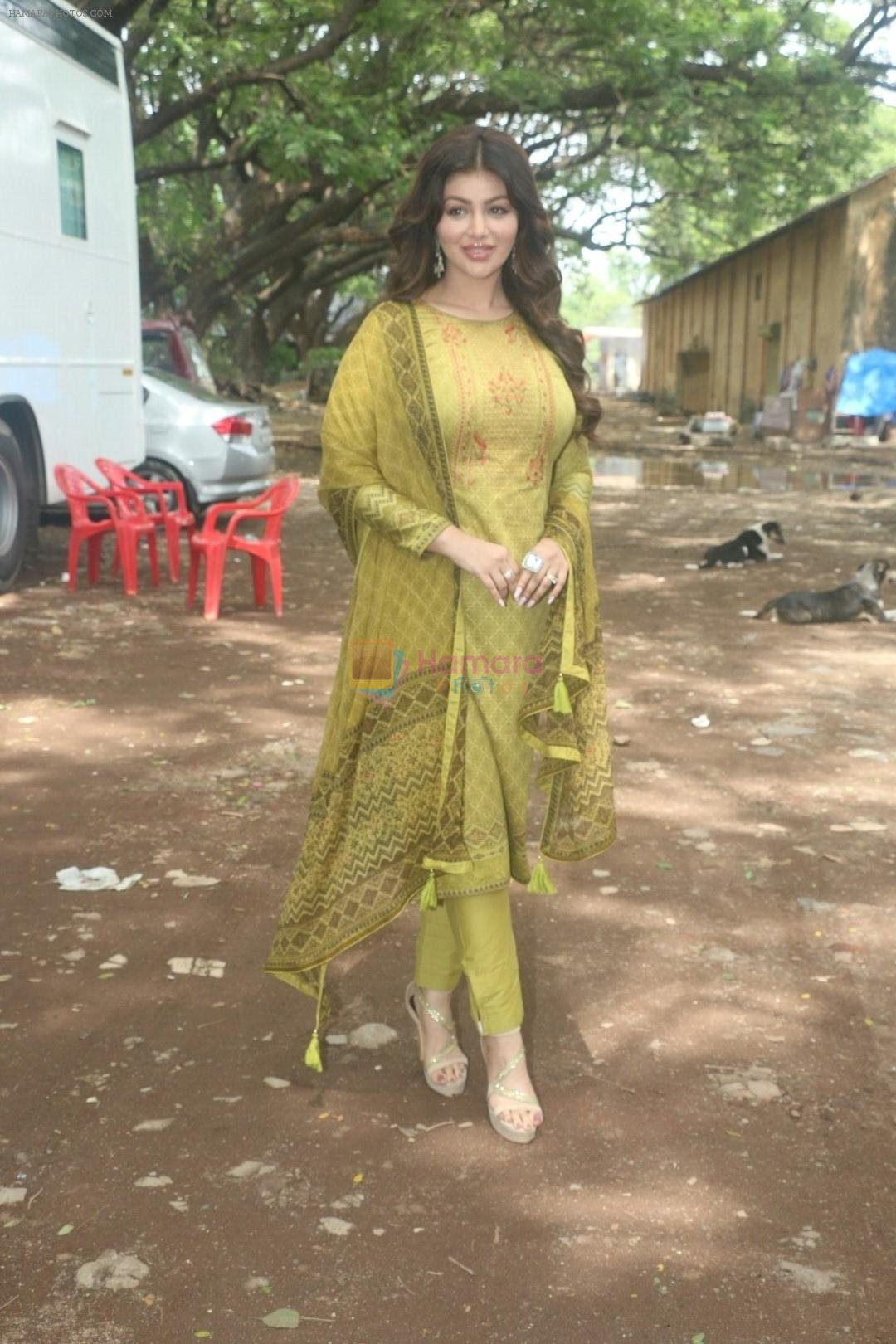 Ayesha Takia shoots for an Ad campaign at goregaon on 13th June 2018