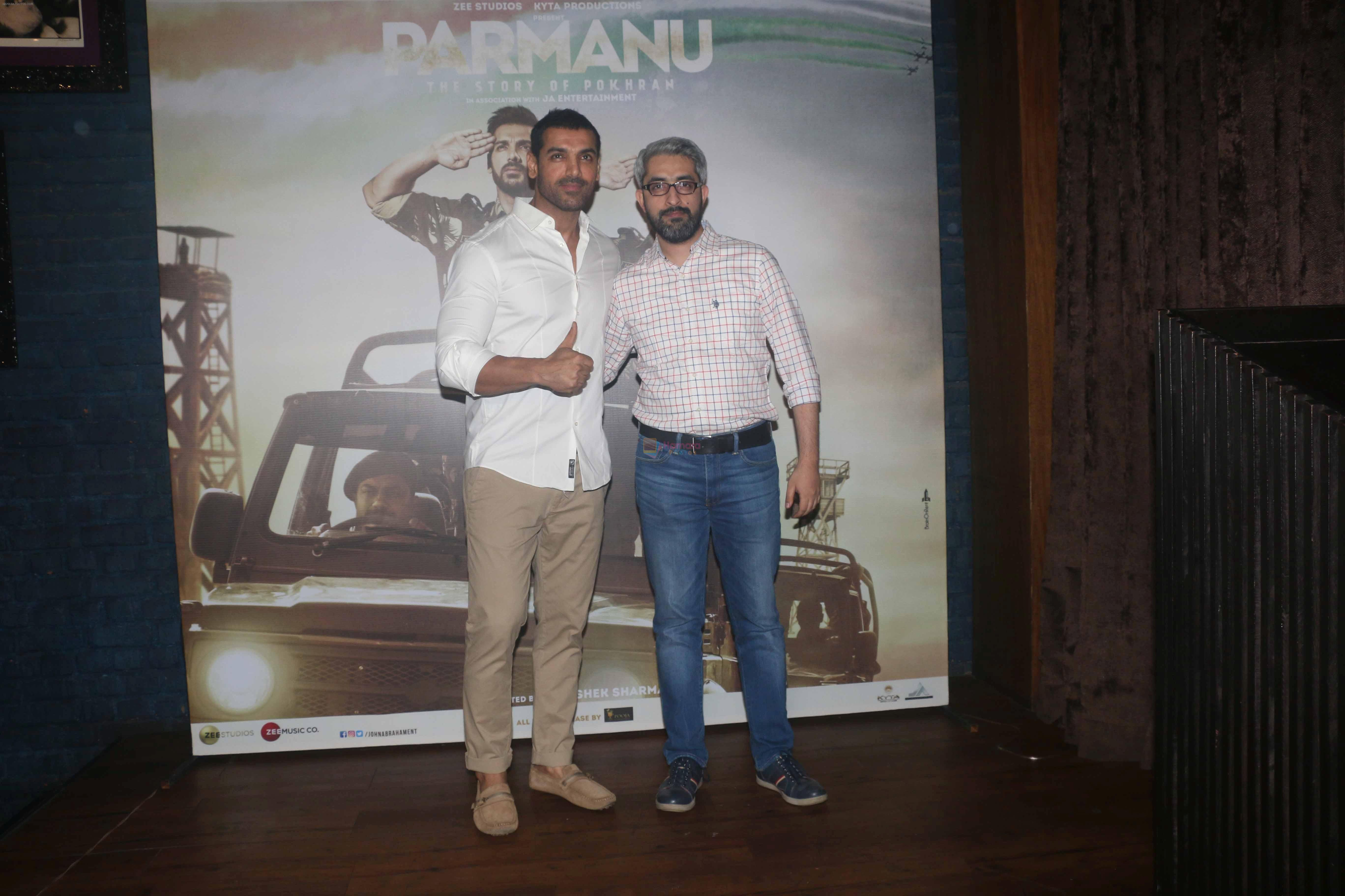 John Abraham at the Success party of film Parmanu in Hard Rock Cafe andheri on 12th June 2018