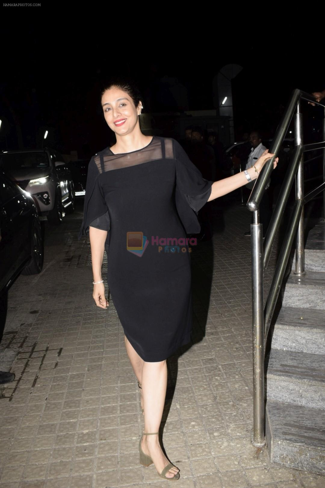 Tabu at the Screening of Race 3 in pvr juhu on 14th June 2018