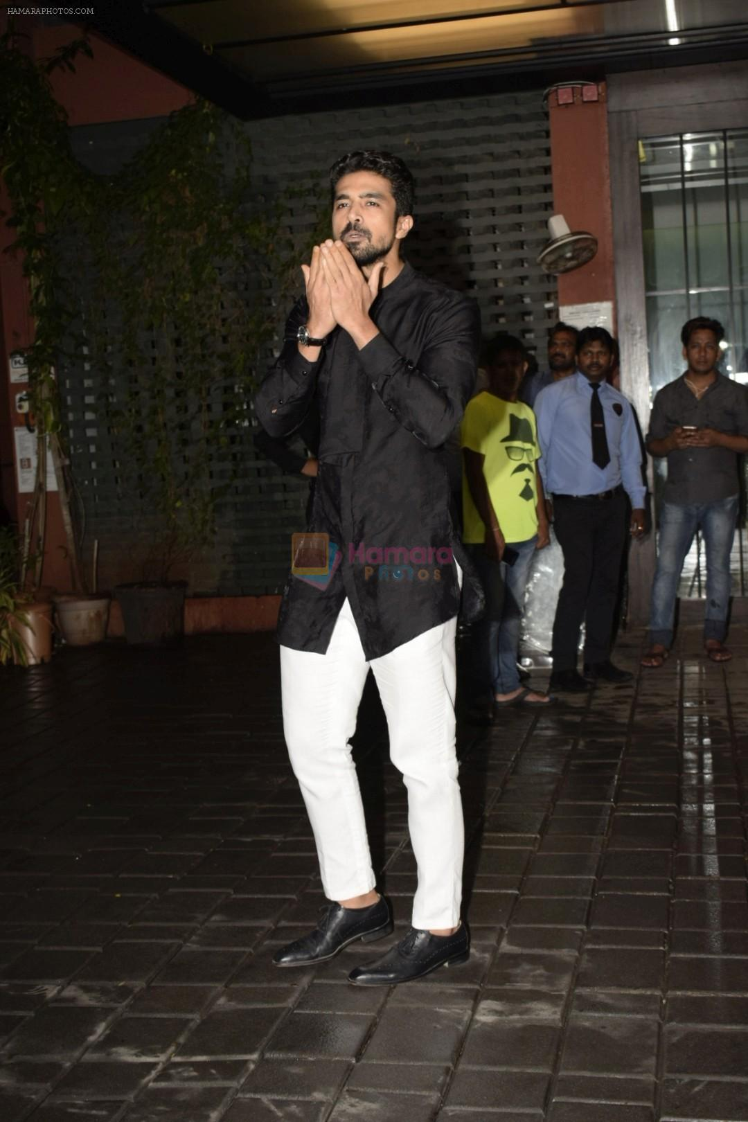 Saqib Saleem at Arpita Khan's Eid party at her residence in bandra on 16th June 2018
