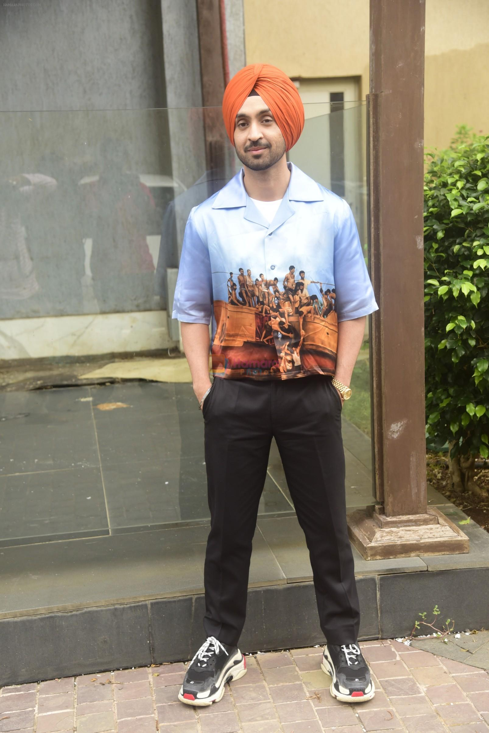 Diljit Dosanjh promotes his film Soorma at jw marriott in juhu on 22nd June 2018