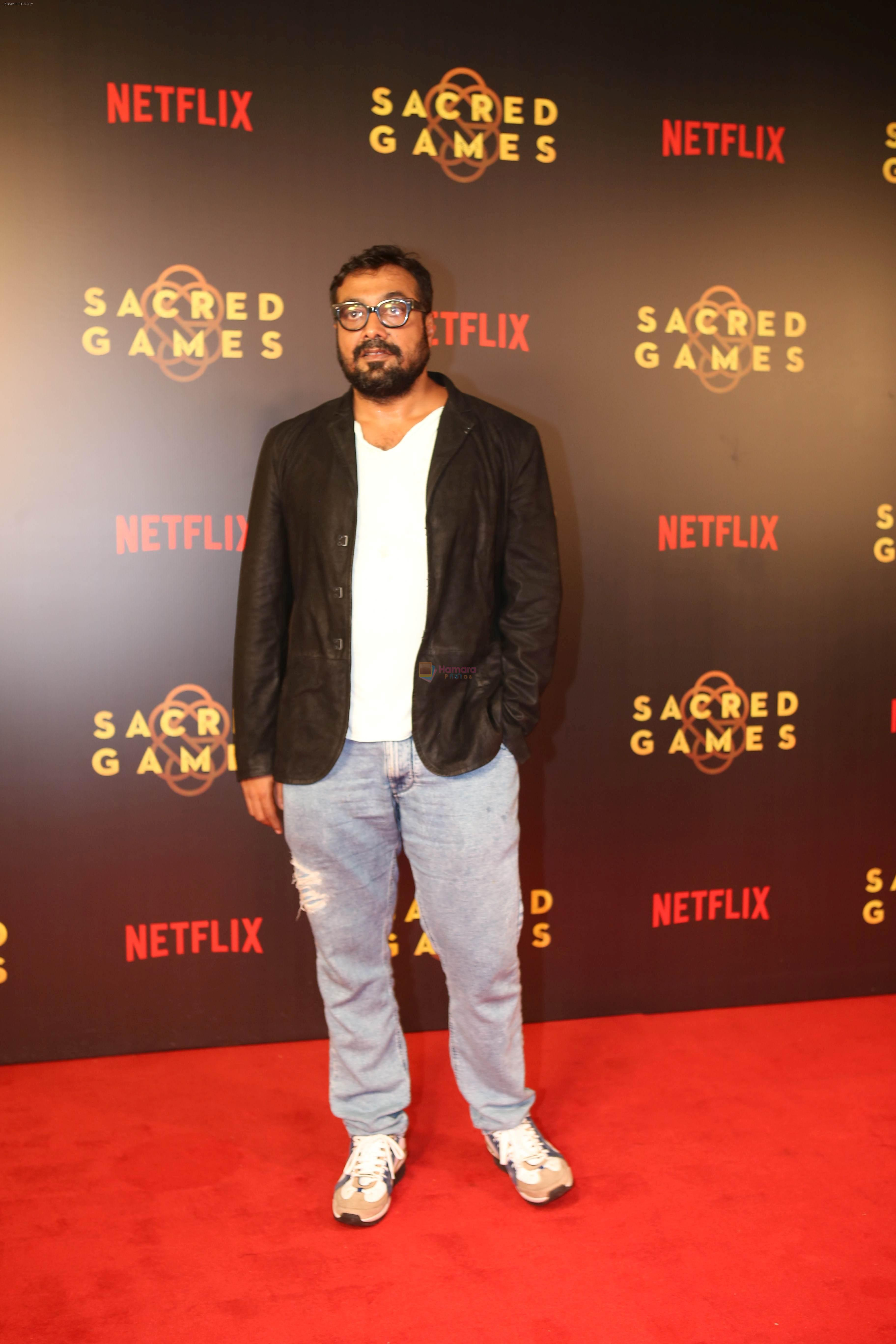 Anurag Kashyap at the Screening of Netflix Sacred Games in pvr icon Andheri on 28th June 2018