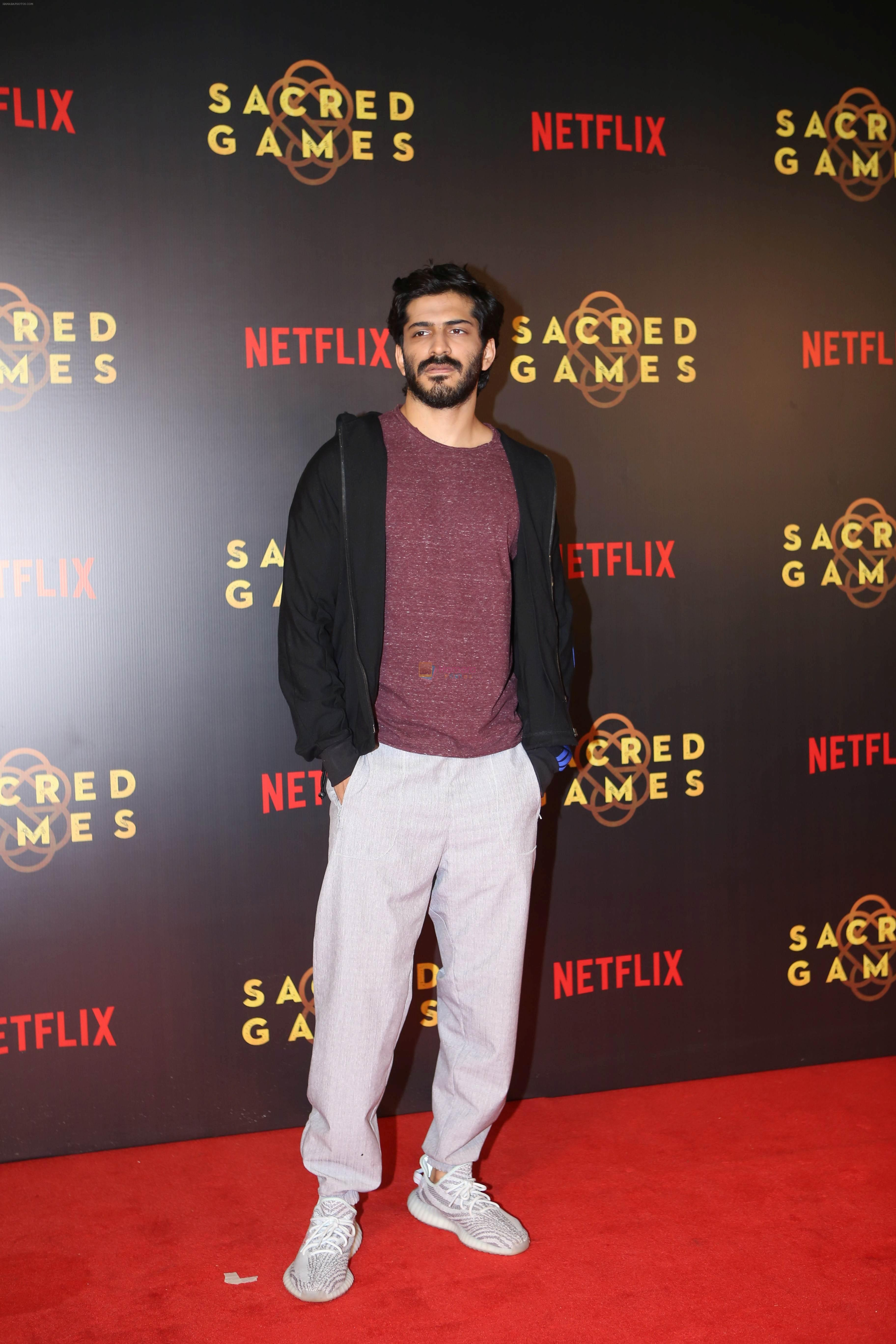 Harshavardhan Kapoor at the Screening of Netflix Sacred Games in pvr icon Andheri on 28th June 2018