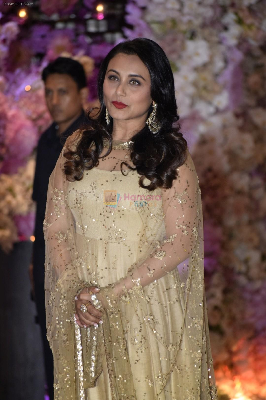 Rani Mukerji at Akash Ambani & Shloka Mehta engagement at Antilia in mumbai on 30th June 2018