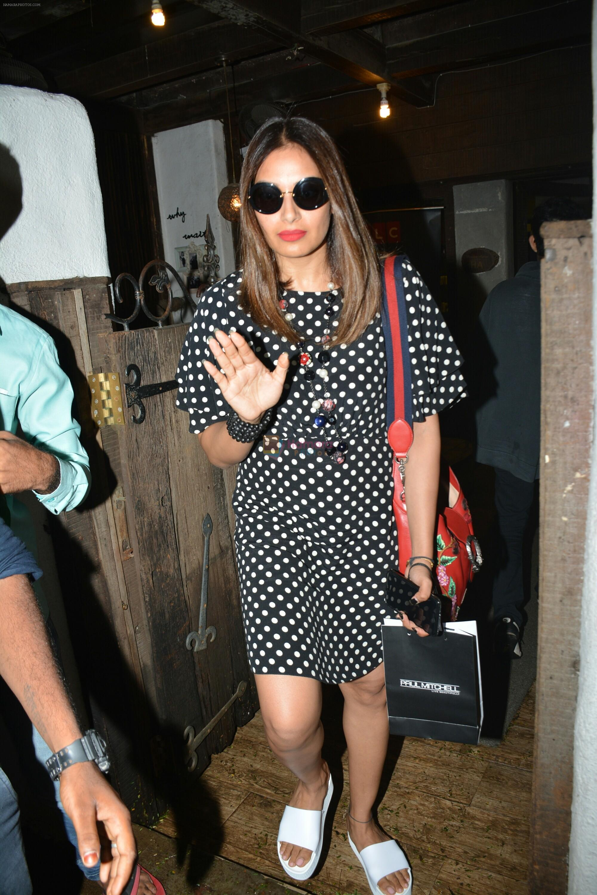 Bipasha Basu spotted at Bandra on 11th July 2018
