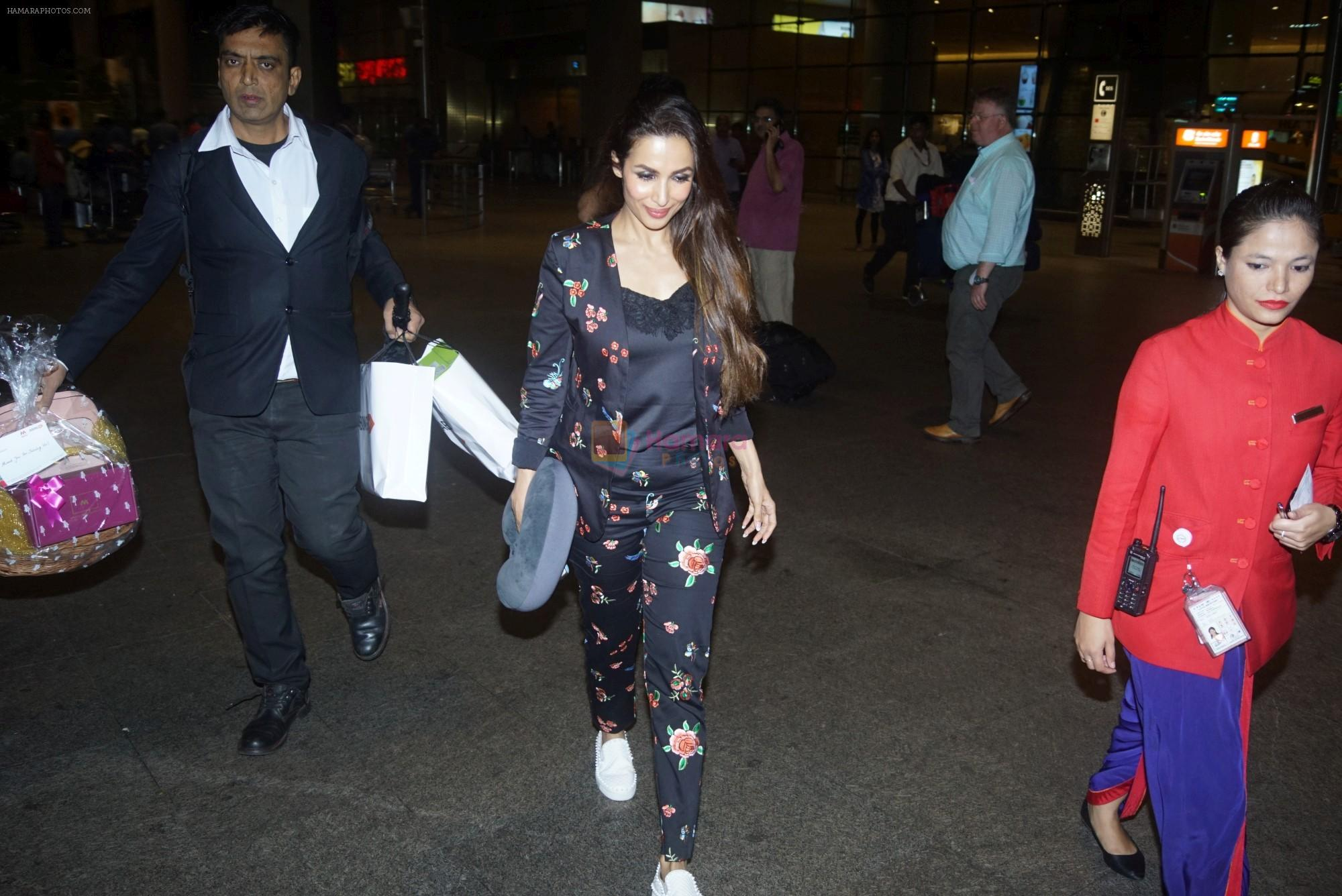 Malaika Arora Spotted at Airport on 11th July 2018