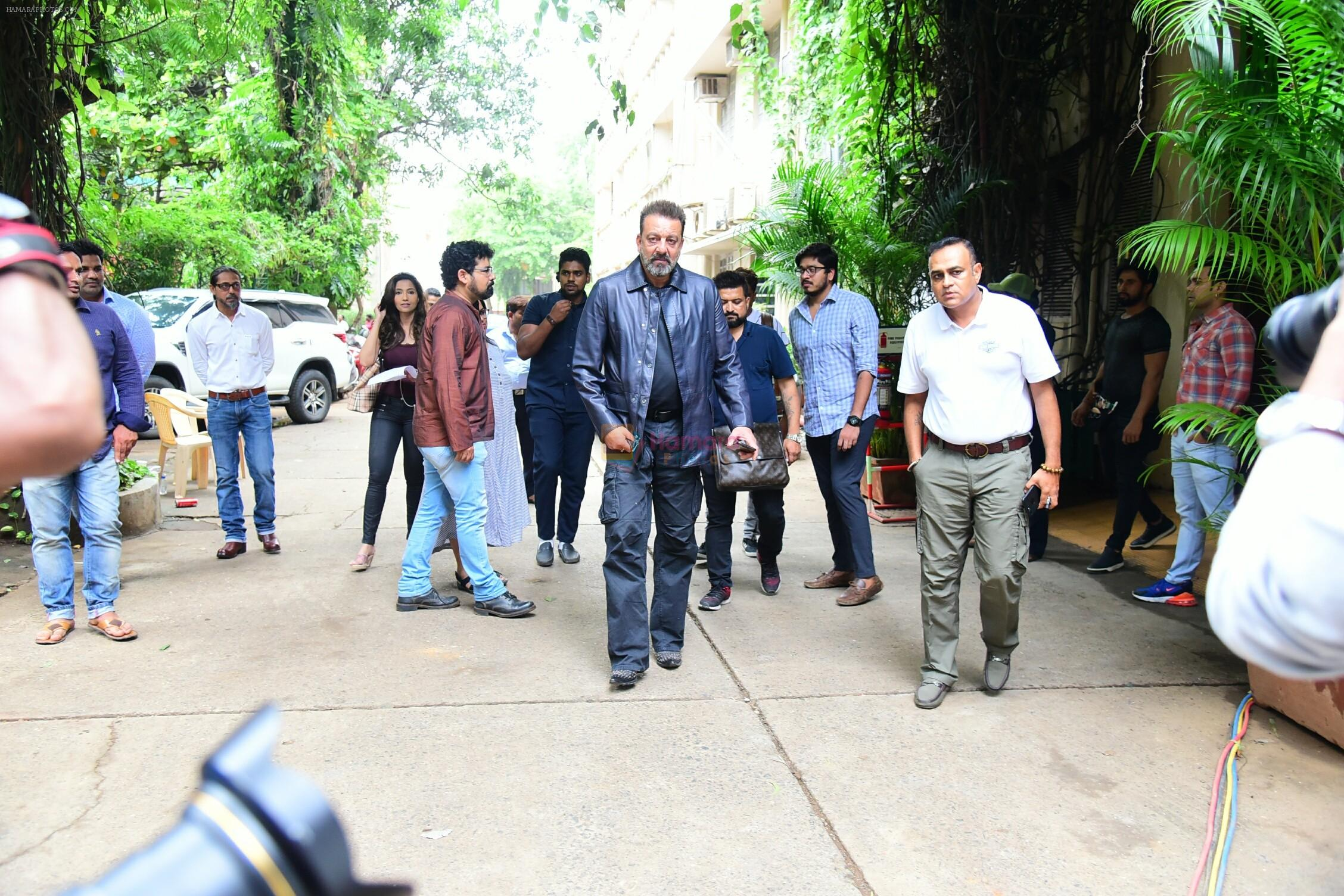 Sanjay Dutt spotted at Mehboob studio bandra on 12th July 2018