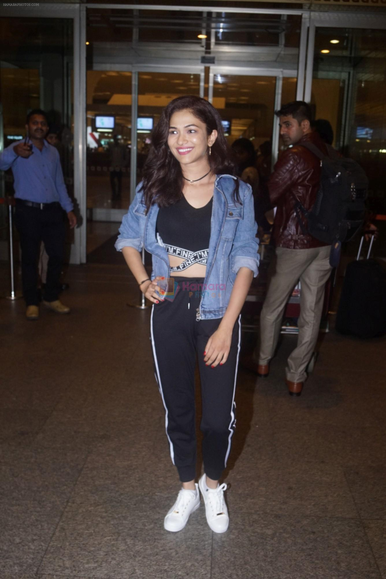 Ridhima Pandit with Khatron Ke Khiladi Team Leaving for Argentina on 11th July 2018