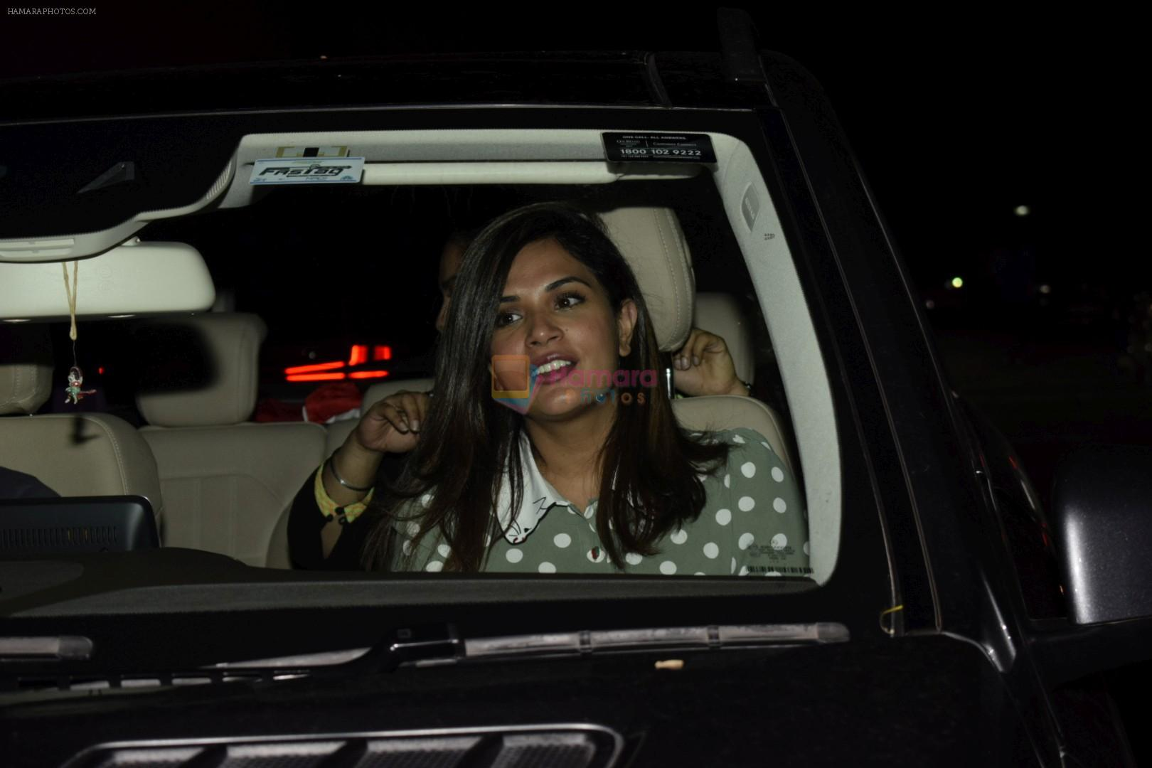 Richa Chadda at the Screening of Soorma in Yashraj studios on 11th July 2018