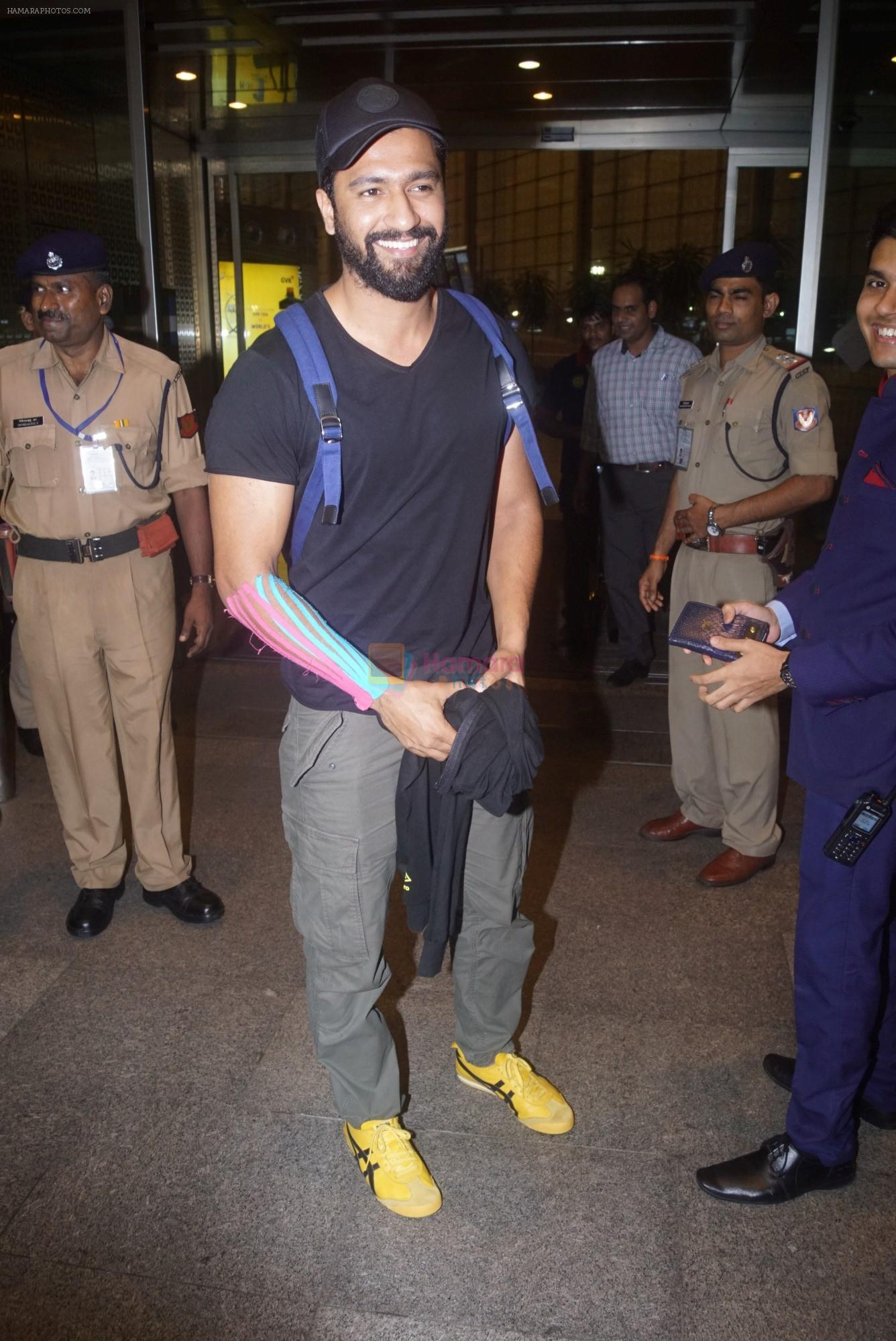 Vicky Kaushal Spotted at Airport on 11th July 2018