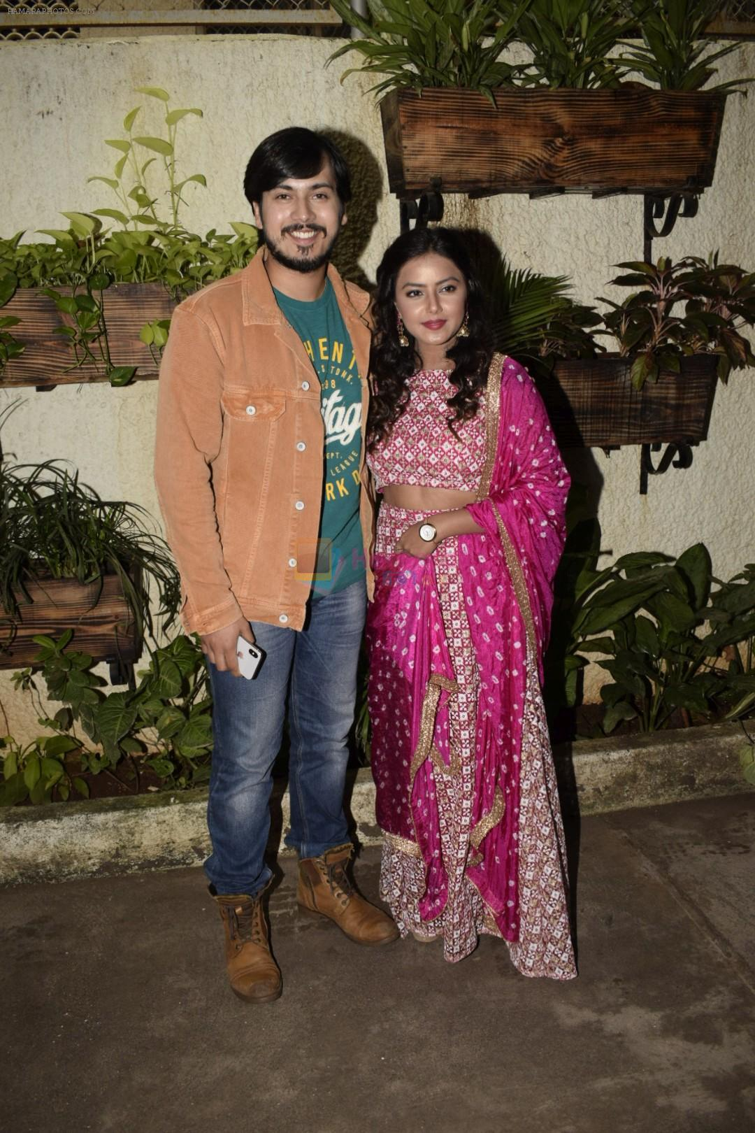 Rutwik Kendre, Monalisa Bhagal at the Screening of marathi film Dry Day in sunny sound juhu on 12th July 2018