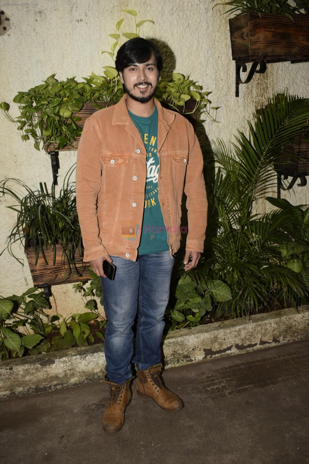 Rutwik Kendre at the Screening of marathi film Dry Day in sunny sound juhu on 12th July 2018