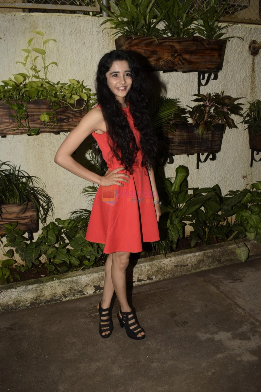 Ayli Ghiya at the Screening of marathi film Dry Day in sunny sound juhu on 12th July 2018