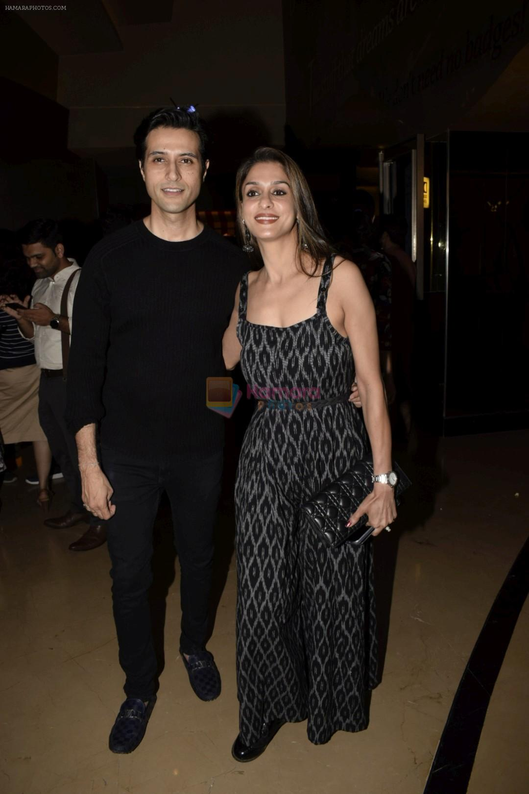 Apurva Agnihotri, Shilpa Sakhlani at the Screening of TVF's web series Yeh Meri Family in pvr juhu on 12th July 2018