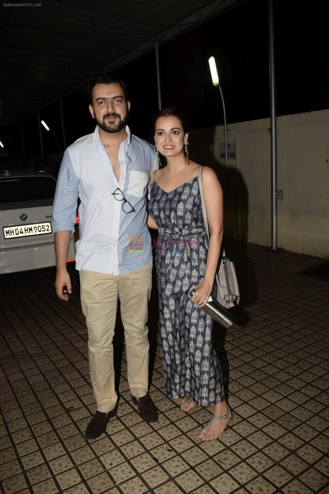 Dia Mirza spotted at pvr juhu on 13th July 2018