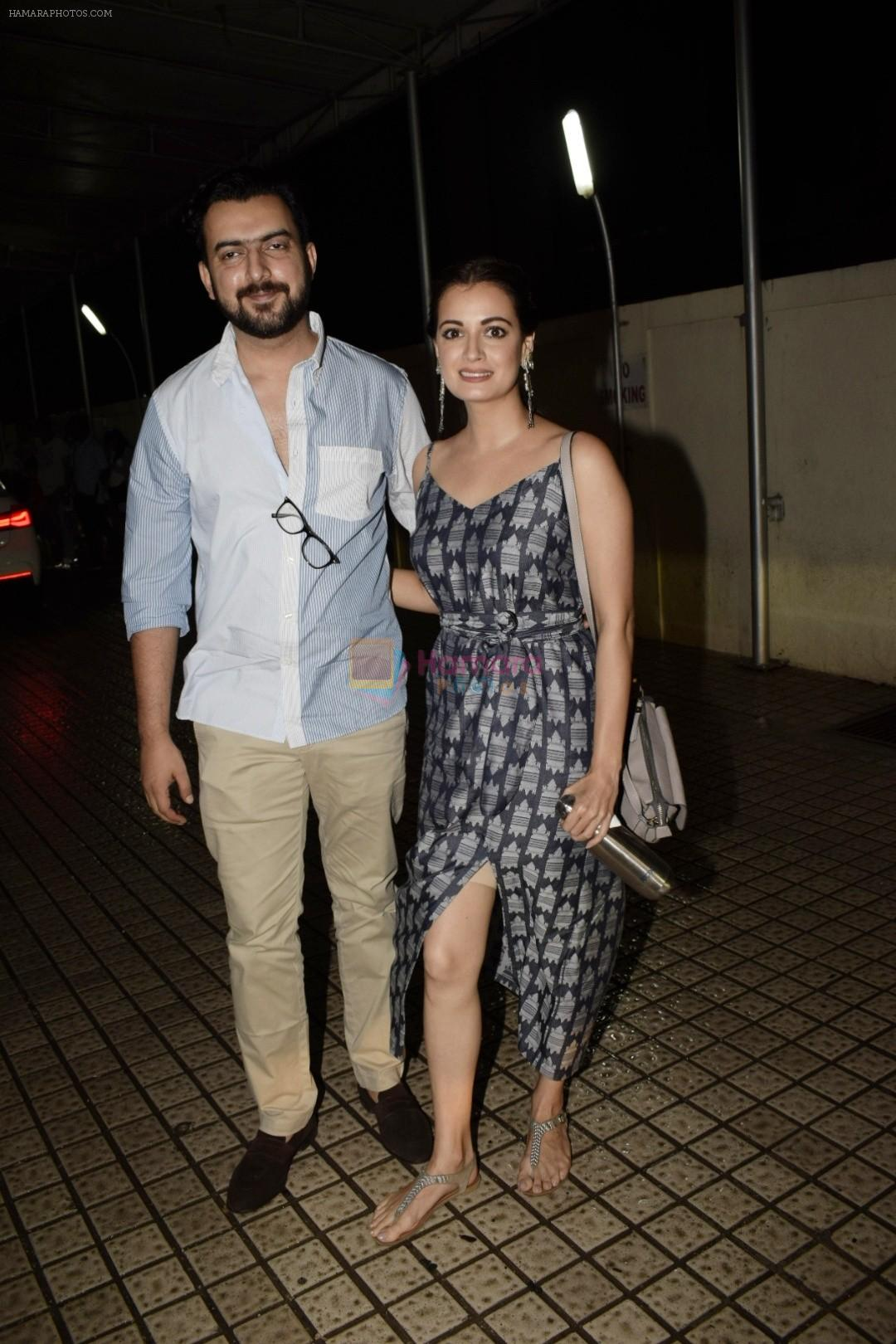 Sahil Sangha, Dia Mirza spotted at pvr juhu on 13th July 2018