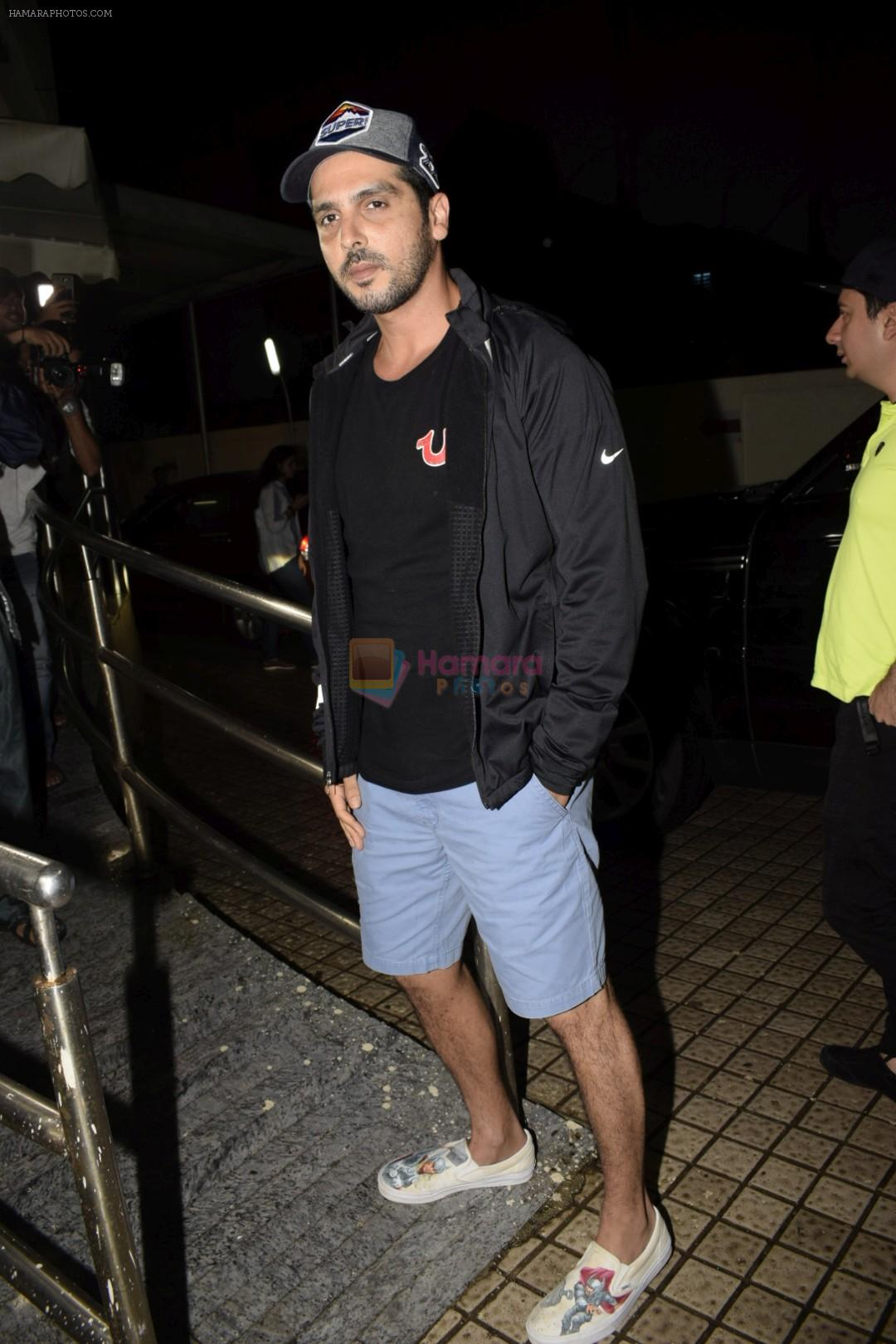 Zayed Khan spotted at pvr juhu on 13th July 2018