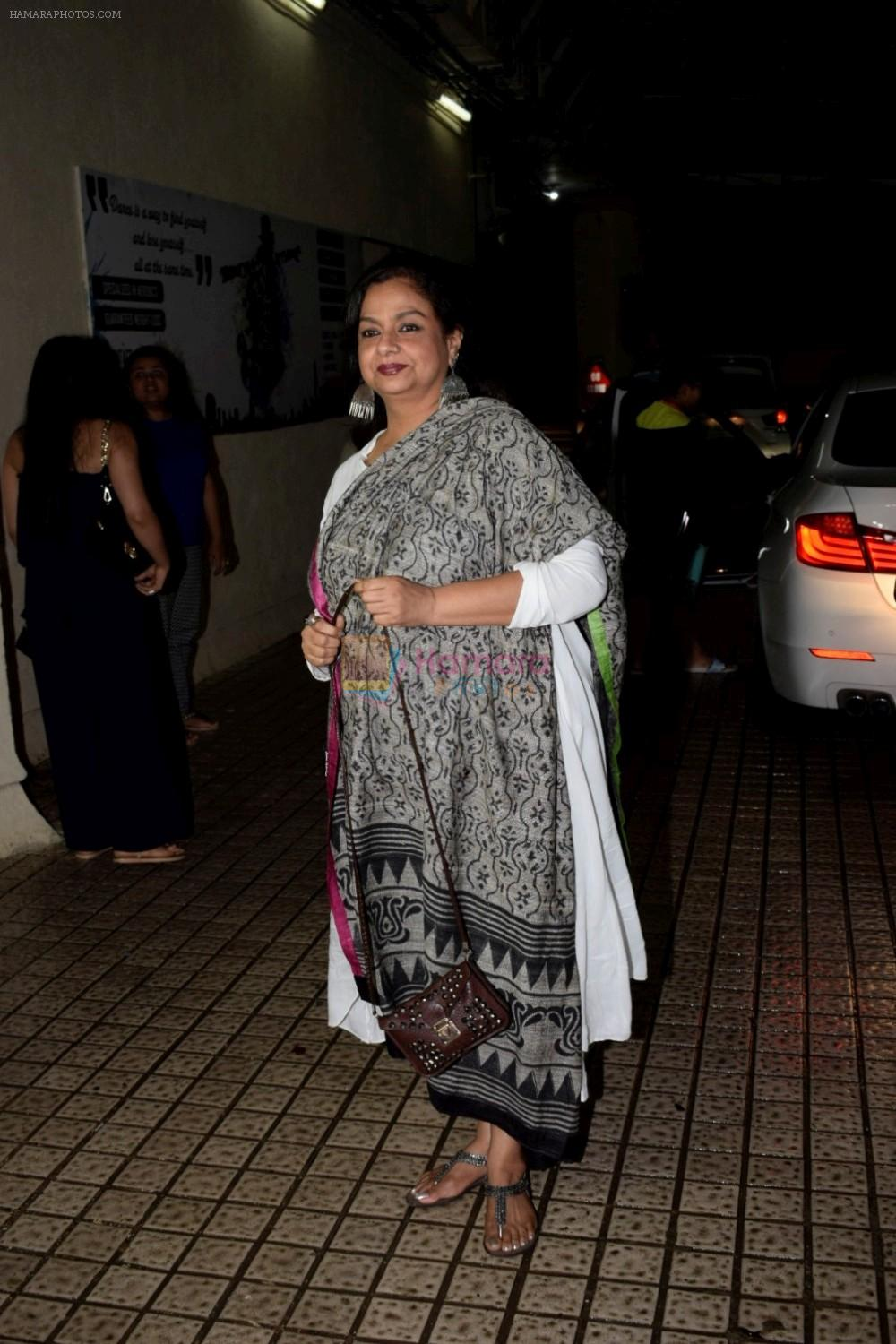 Neelima Azeem at Dhadak Screening in Pvr Juhu on 15th July 2018