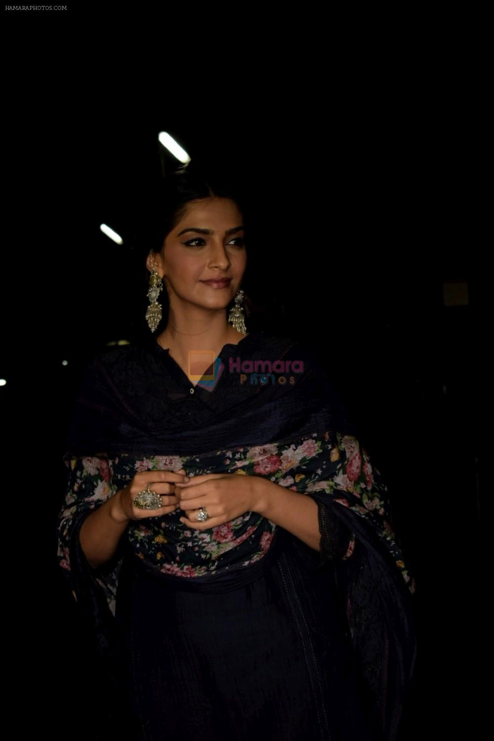 Sonam Kapoor at Dhadak Screening in Pvr Juhu on 15th July 2018