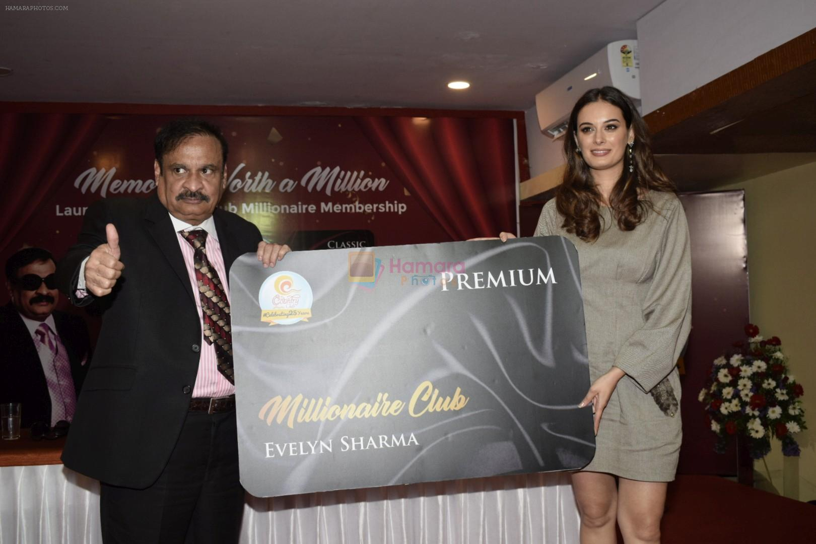 Evelyn Sharma At The Launch Of Country Club Millionaire Card on 28th July 2018