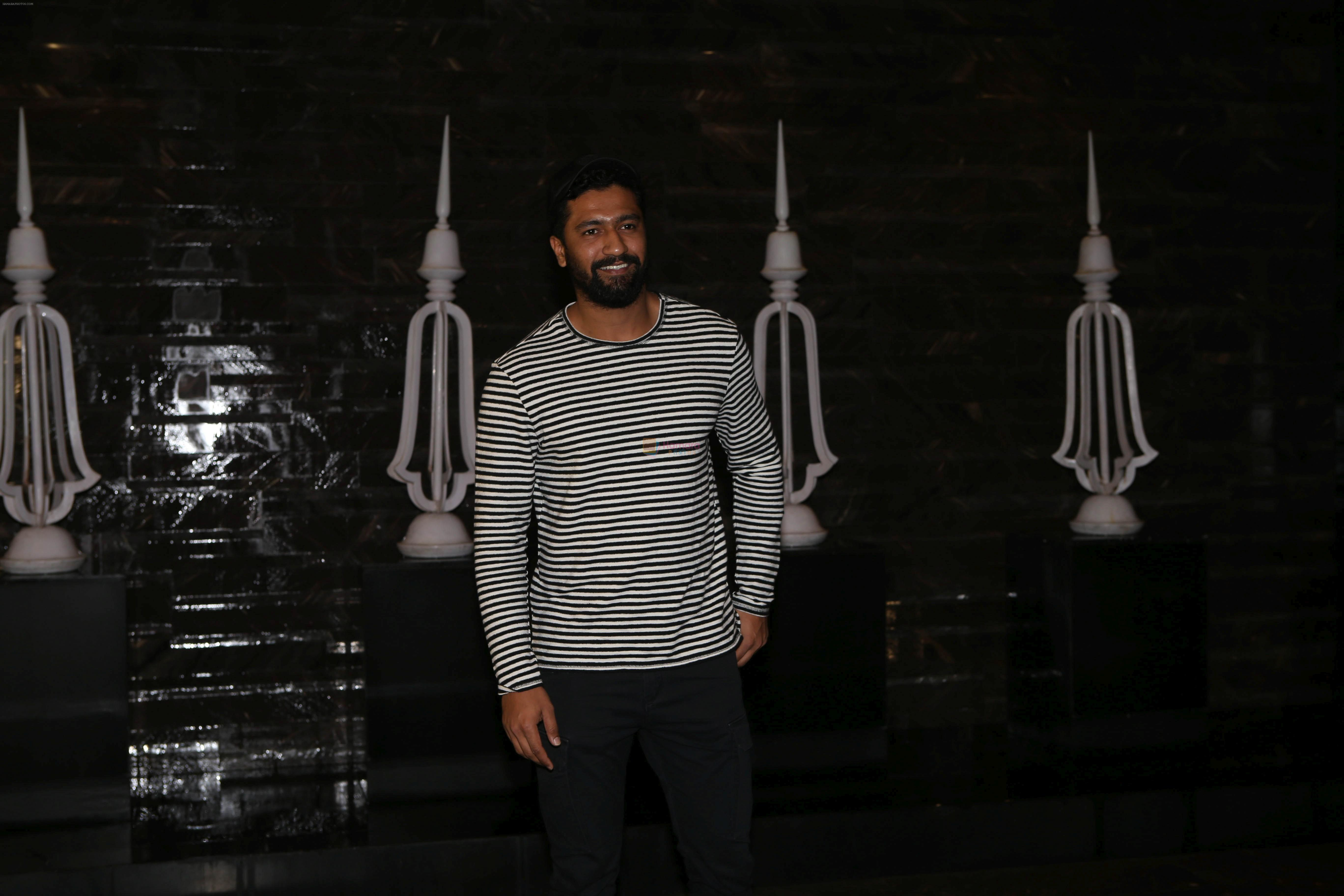 Vicky Kaushal at Kiara Advani's Birthday Party in St Regis Hotel In Lower Parel on 31st July 2018