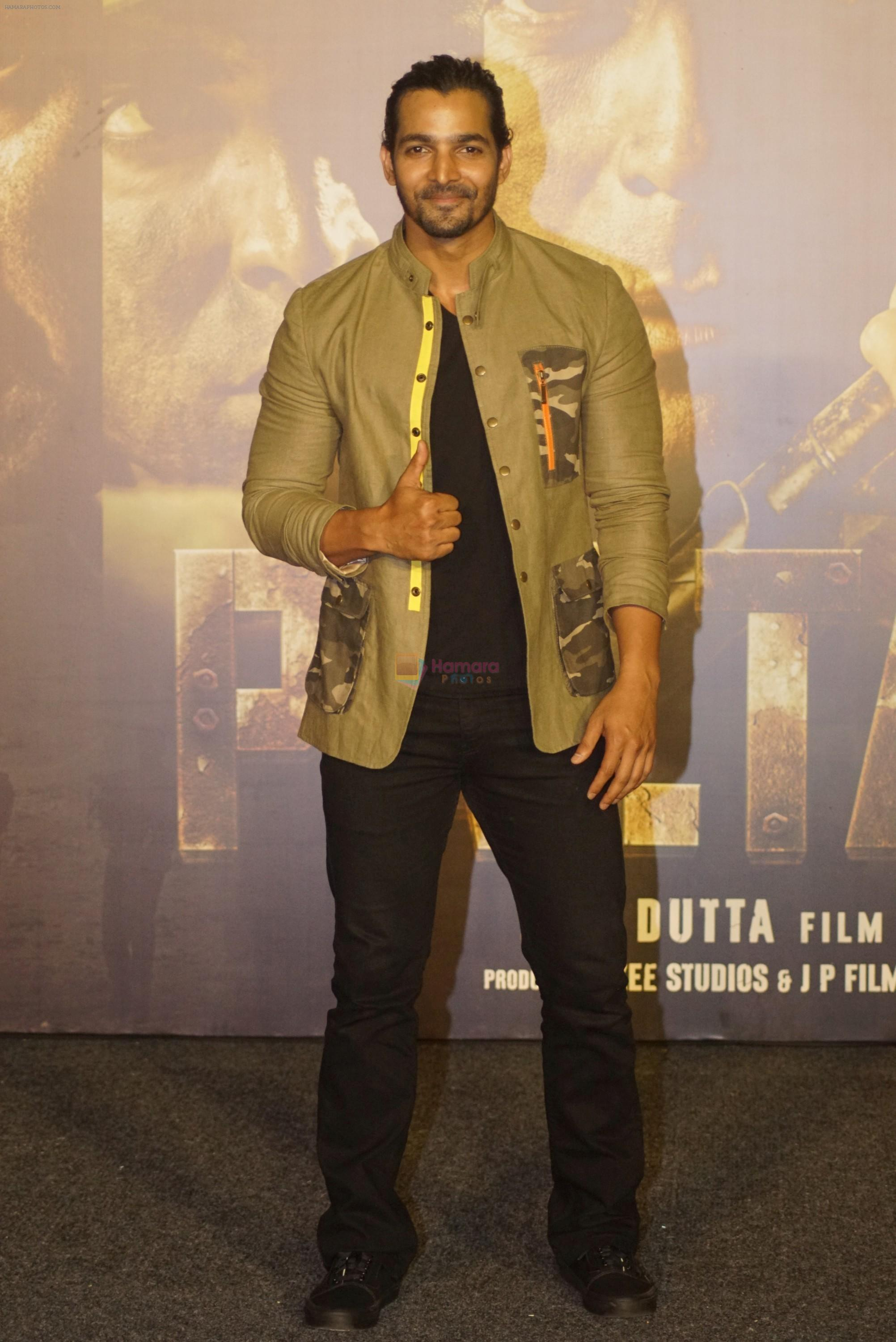 Harshvardhan Rane at the Trailer launch Of Film Paltan on 2nd Aug 2018