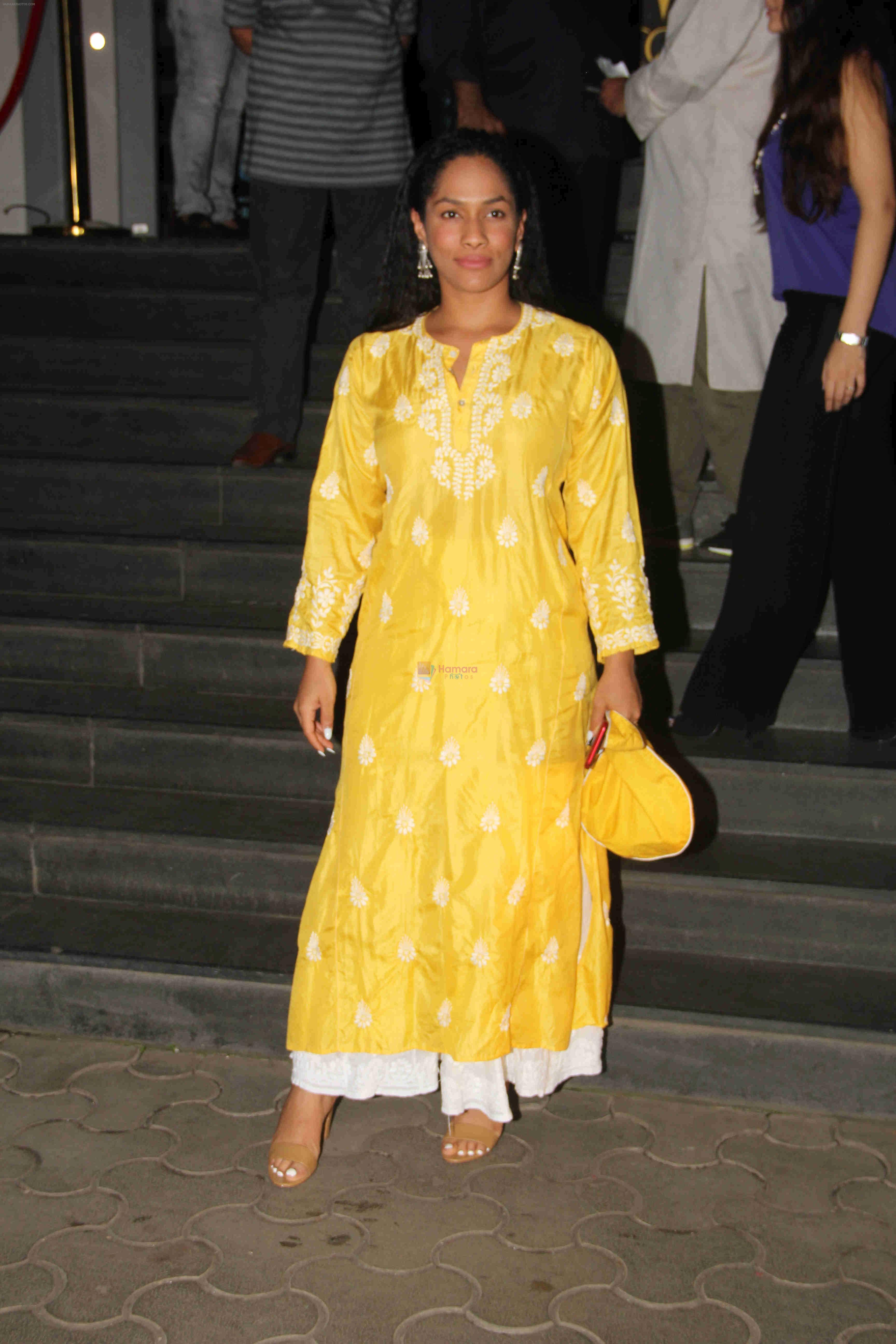 Masaba at the Special Screening Of Film Mulk on 2nd Aug 2018